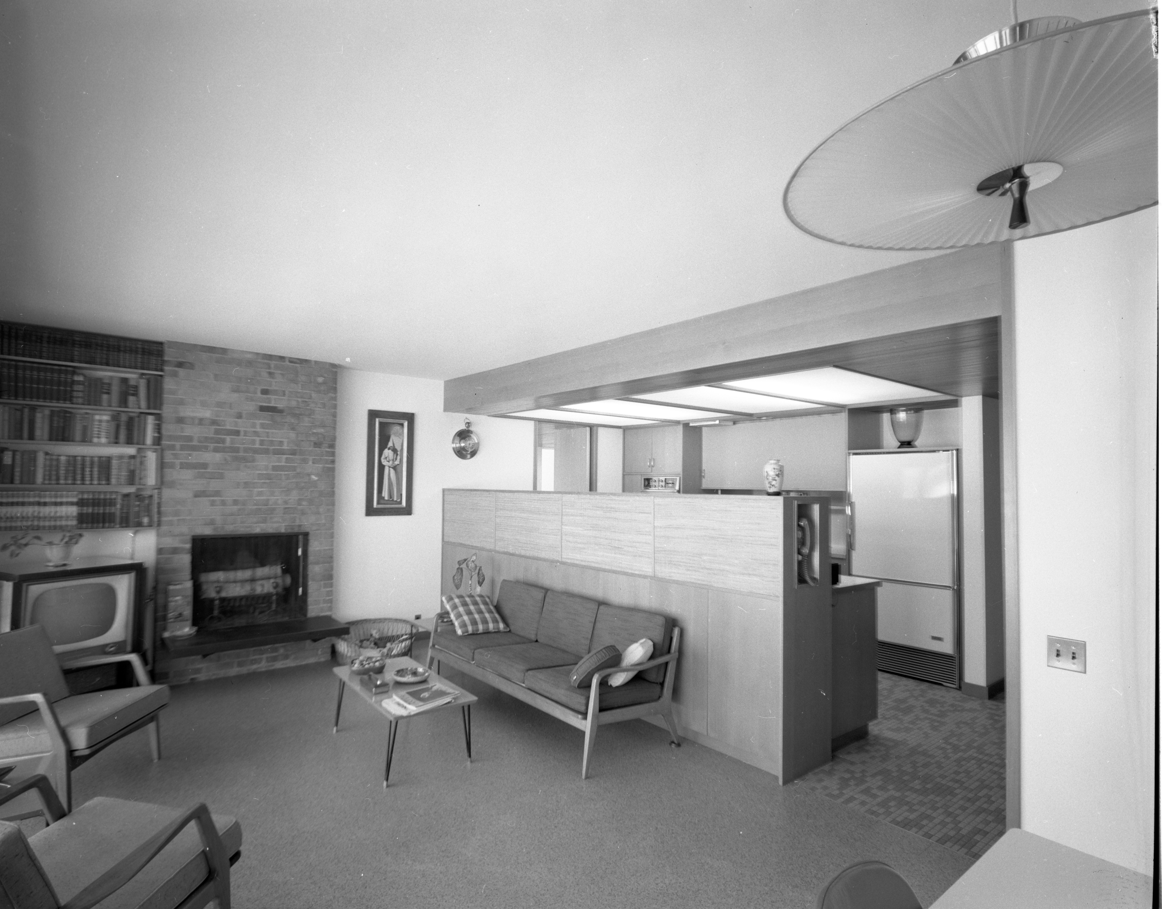Family Room-Kitchen of Botch Home on Chestnut Rd , March 1959 image
