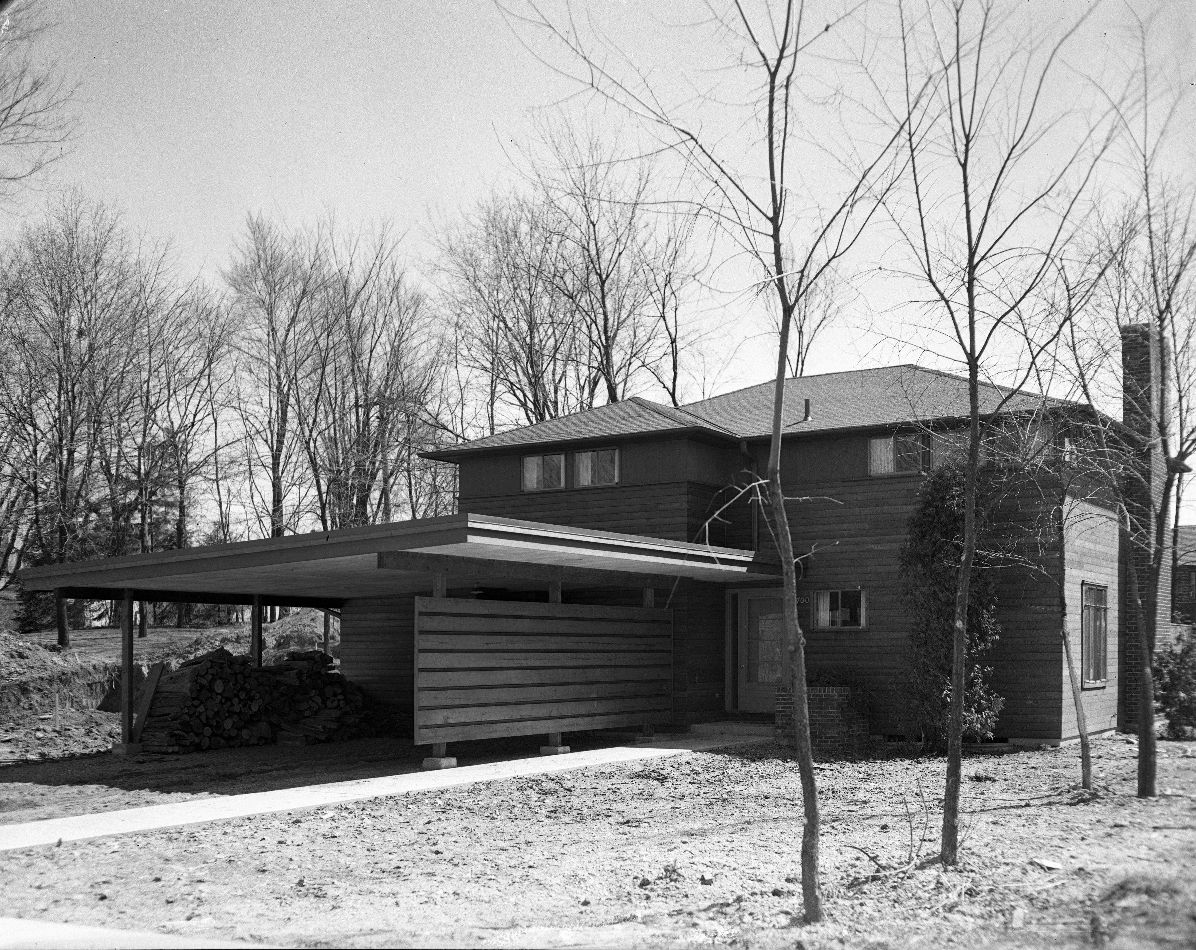 Mary & William Dobson Mid-Century Modern Home On Hermitage Rd., April 1951 image