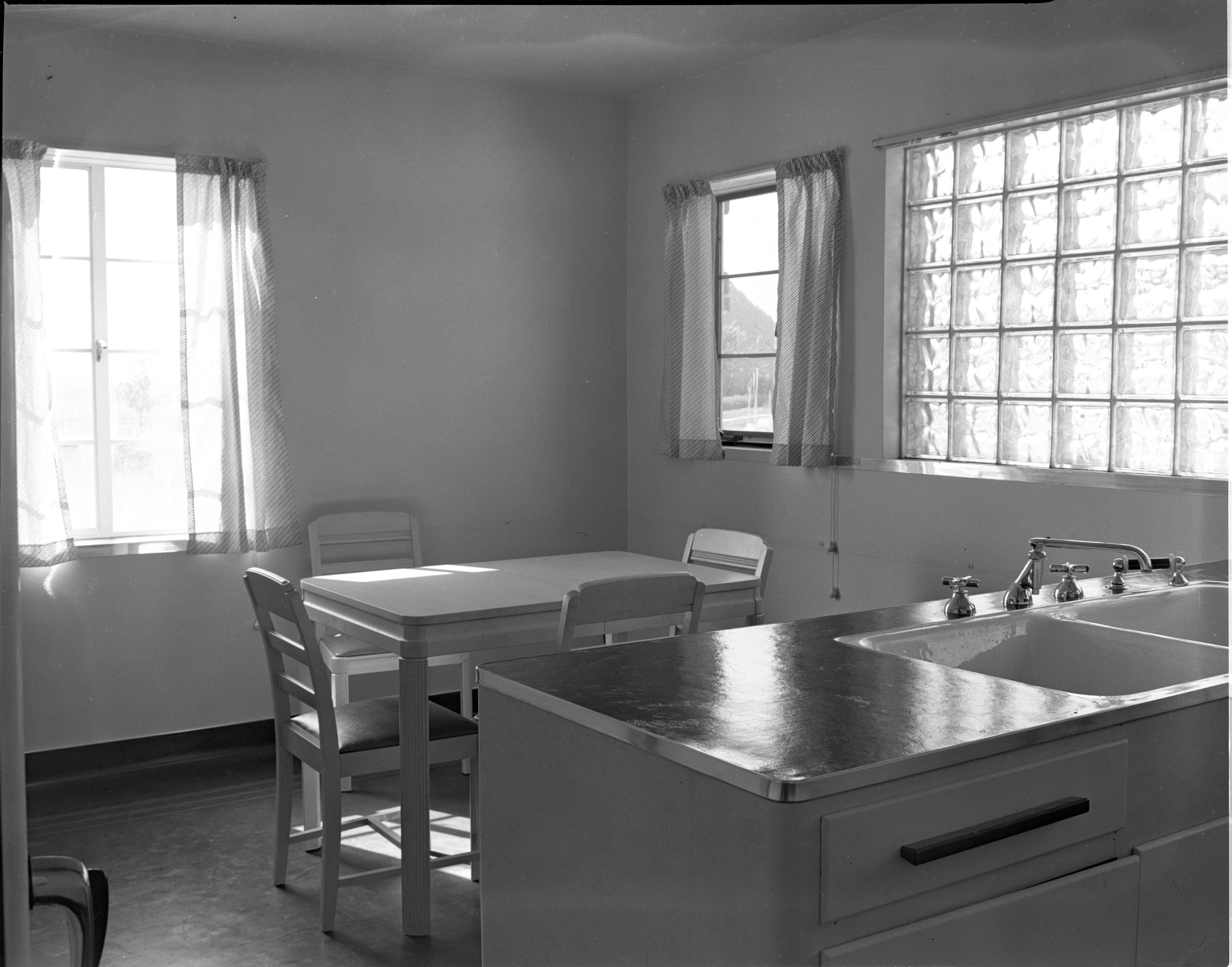 Kitchen-Dinette Of Newly Built 1449 Greenview Drive, October 1938 image