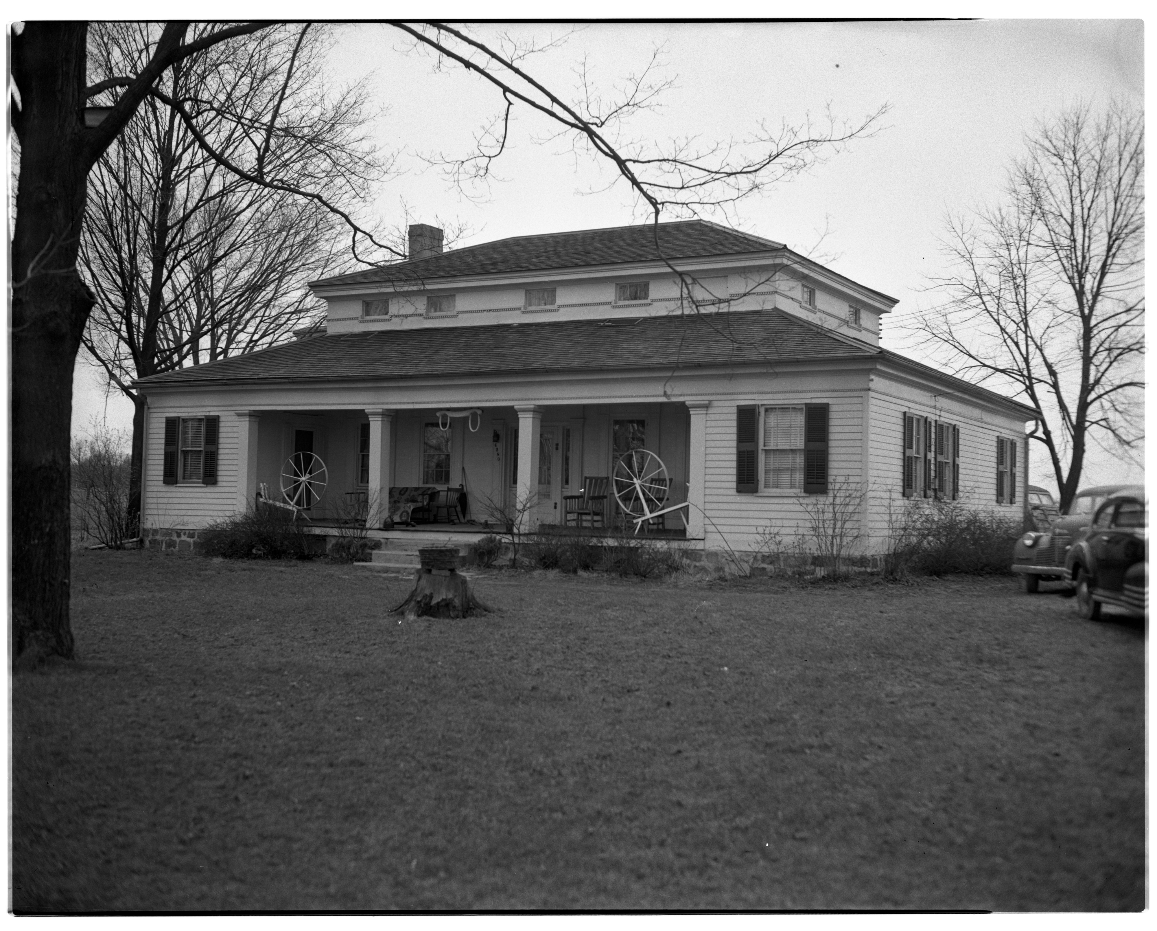 Rufus Home exterior, Ann Arbor Hills, October 1938 image