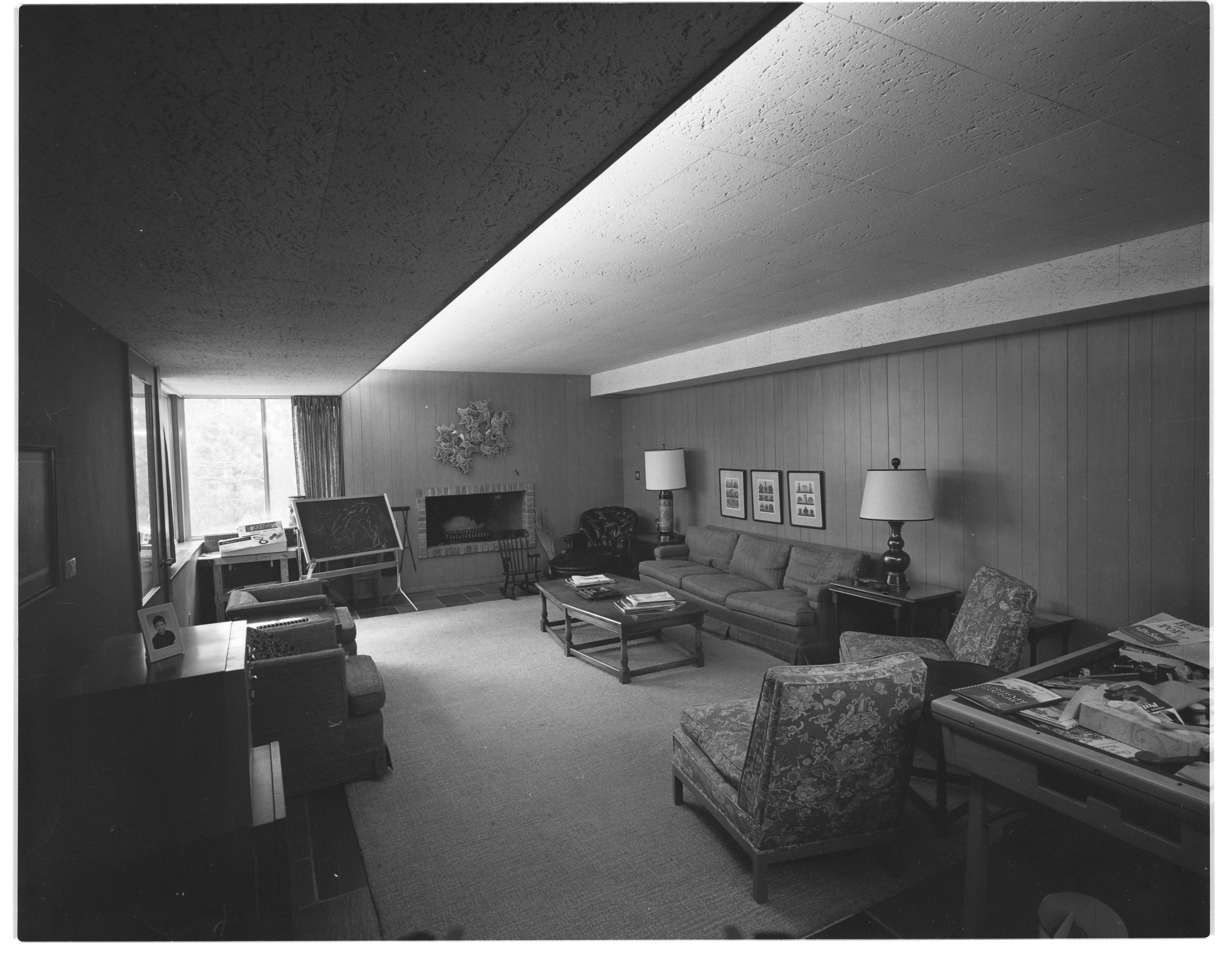 Recessed Lighting a Feature of Mrs. Henry Wege Home, April 1969 image