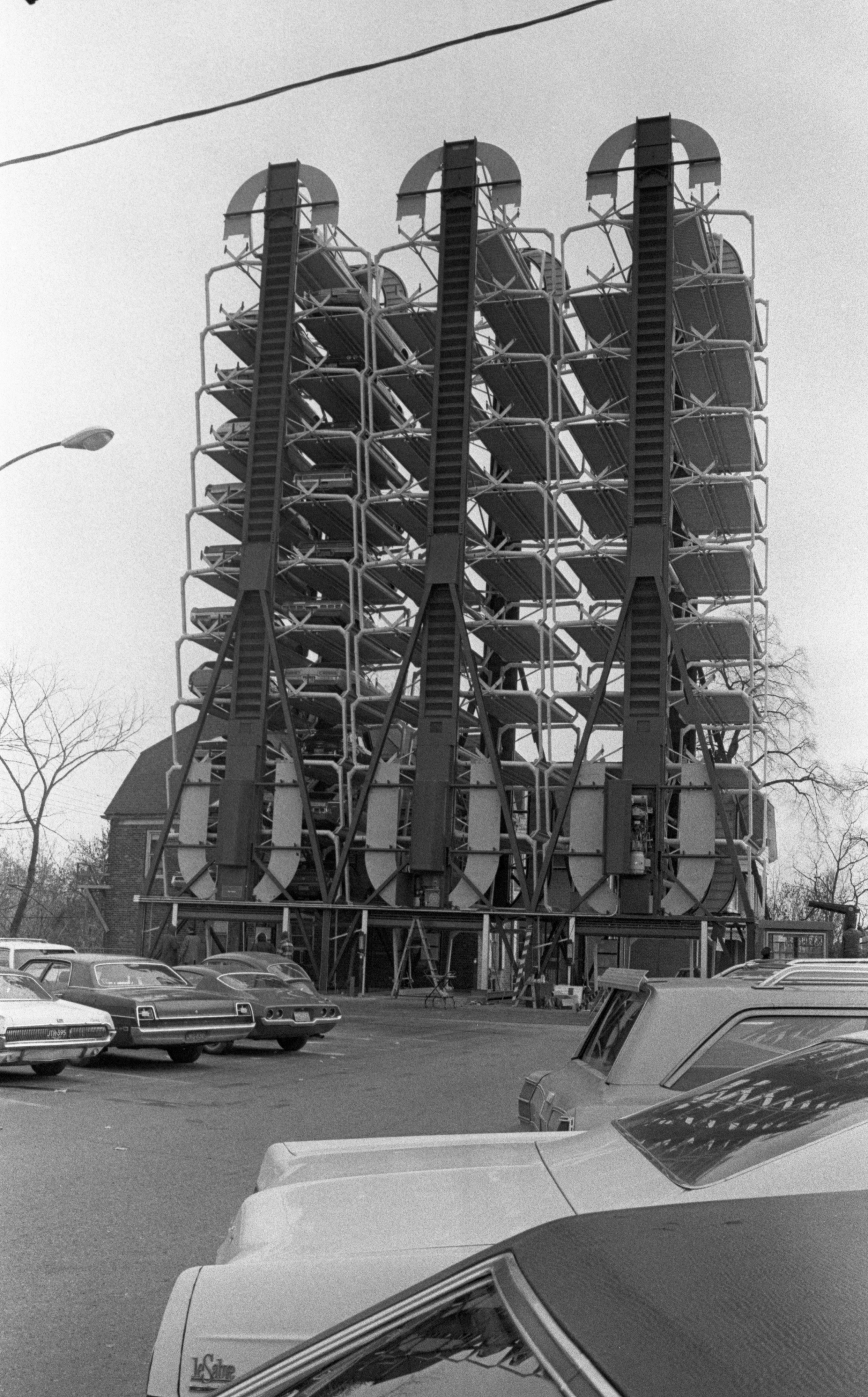 St. Joseph Mercy Hospital's New Park Mobile Structures, November 1973 image