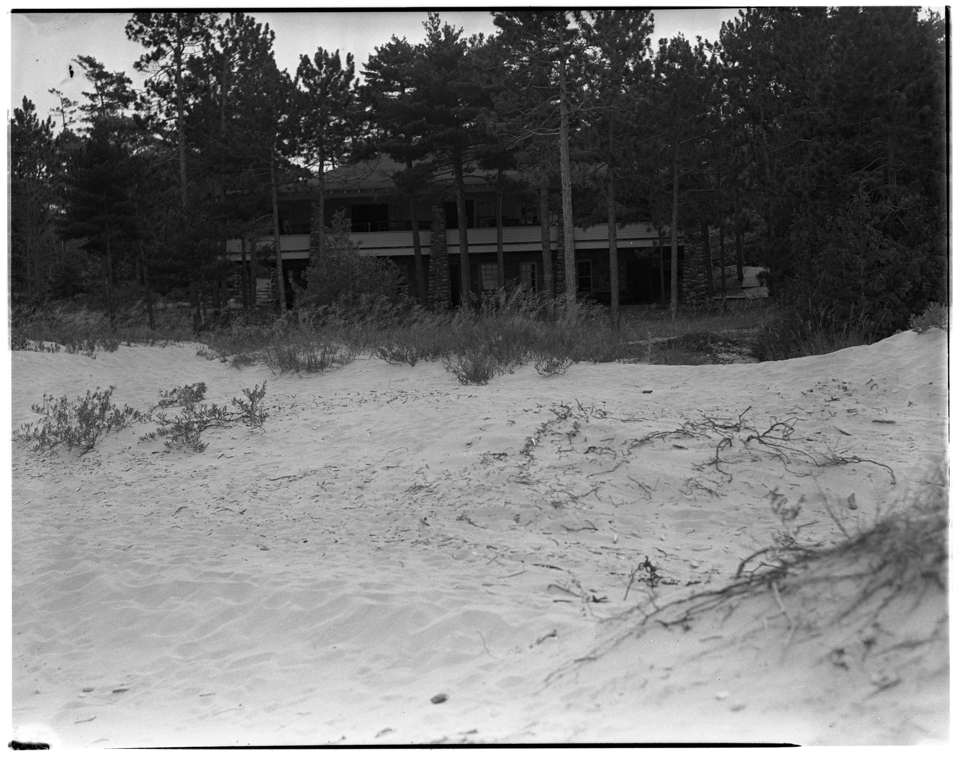 """Smoke Trails"", Bay City, MI to 40 Mile Point, MI - House on Dunes image"