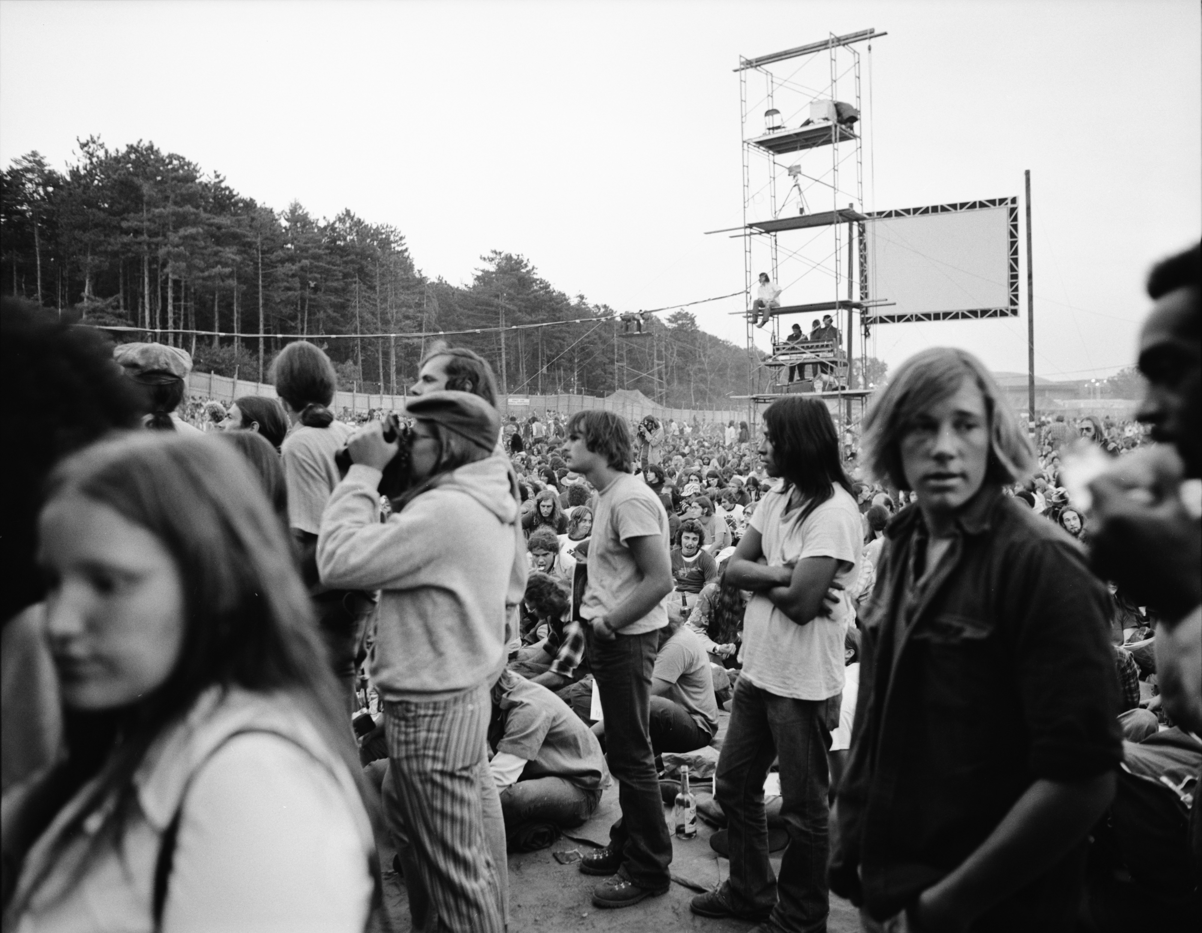 Crowd at 1973 Ann Arbor Blues and Jazz Festival image