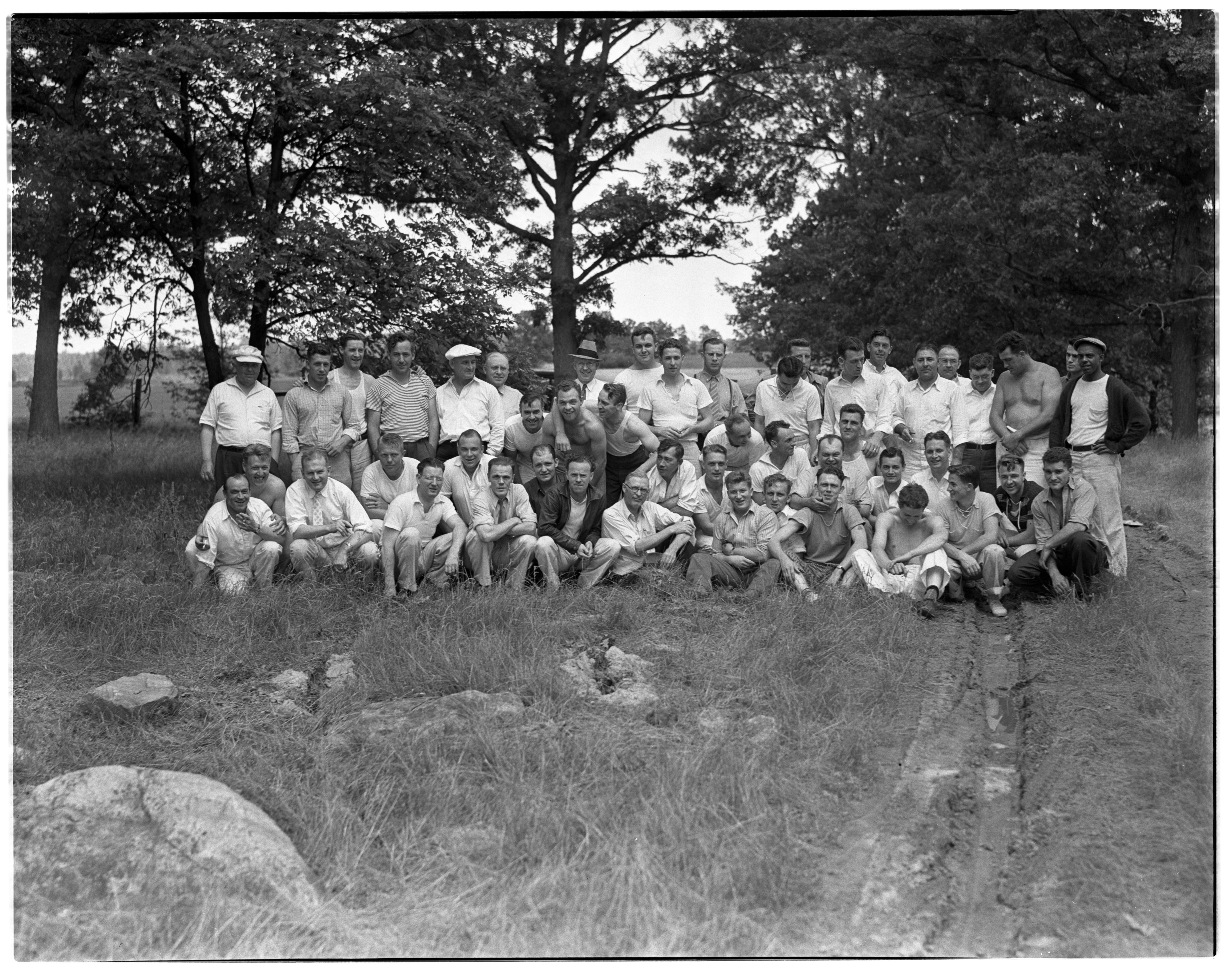 AA Club Picnic, June 27, 1937 image