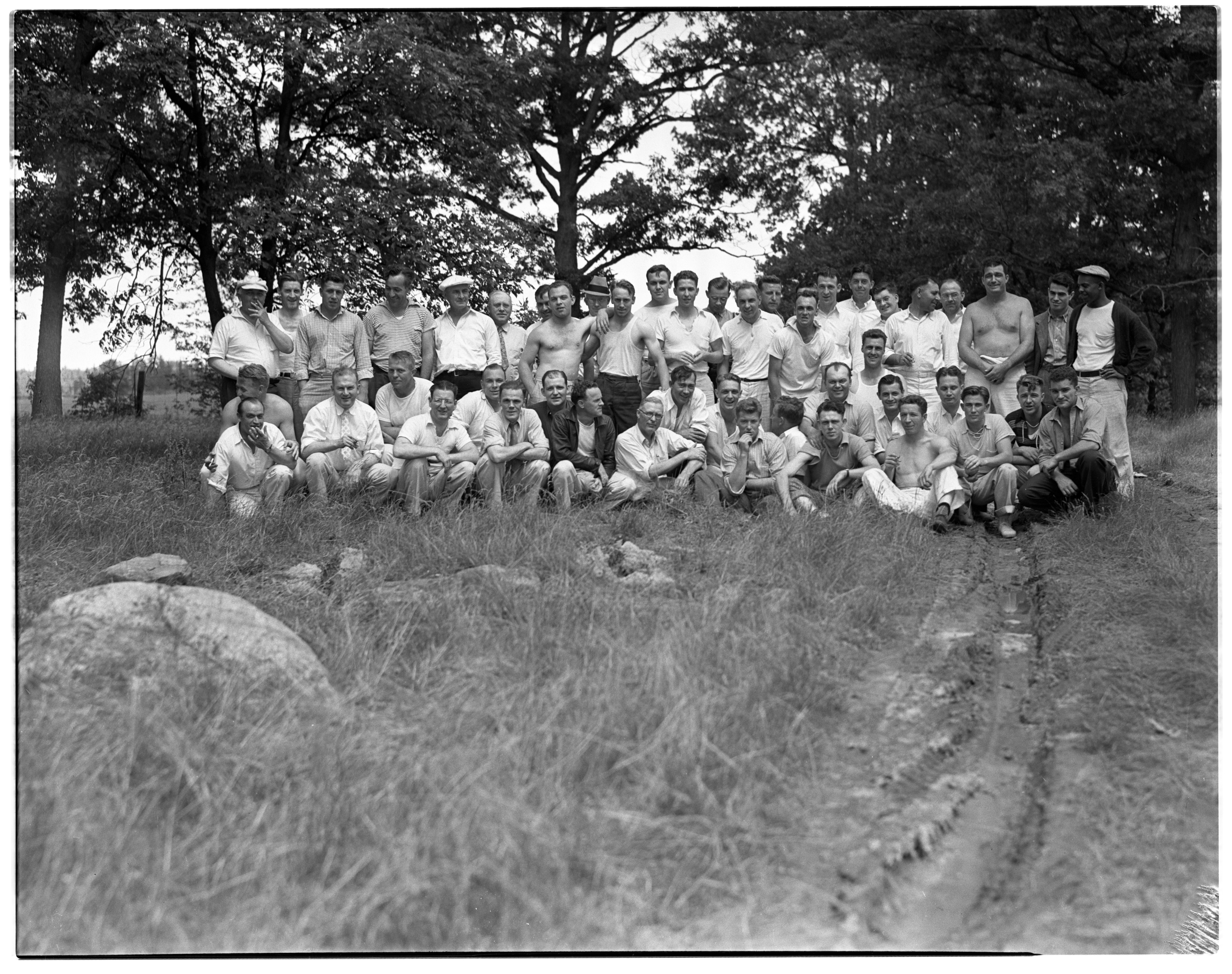 AA Club Picnic, June 1937 image