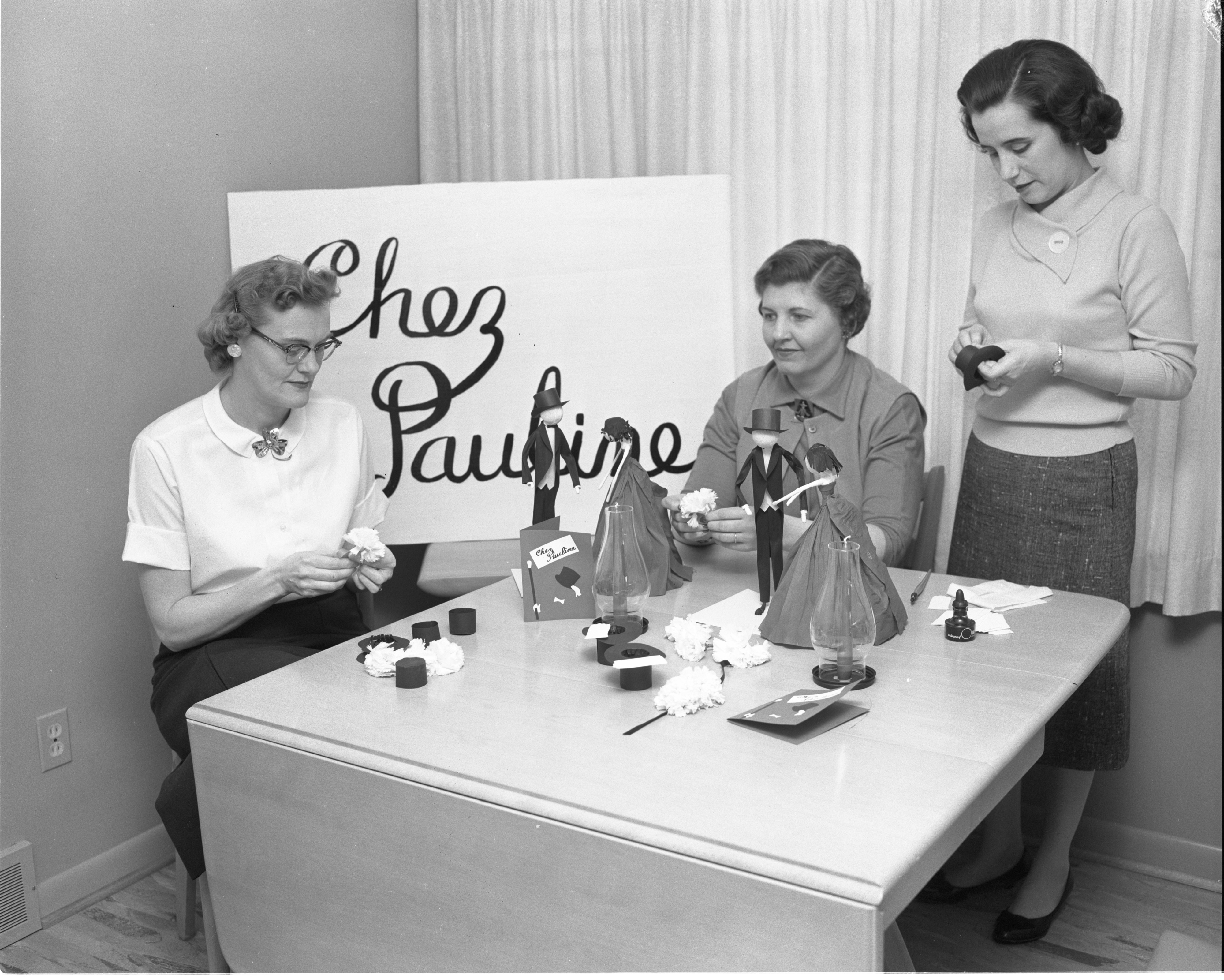 "Pauline Acres Women's Club Plans For 7th Annual Dinner-Dance - ""Chez Pauline"", February 1961 image"