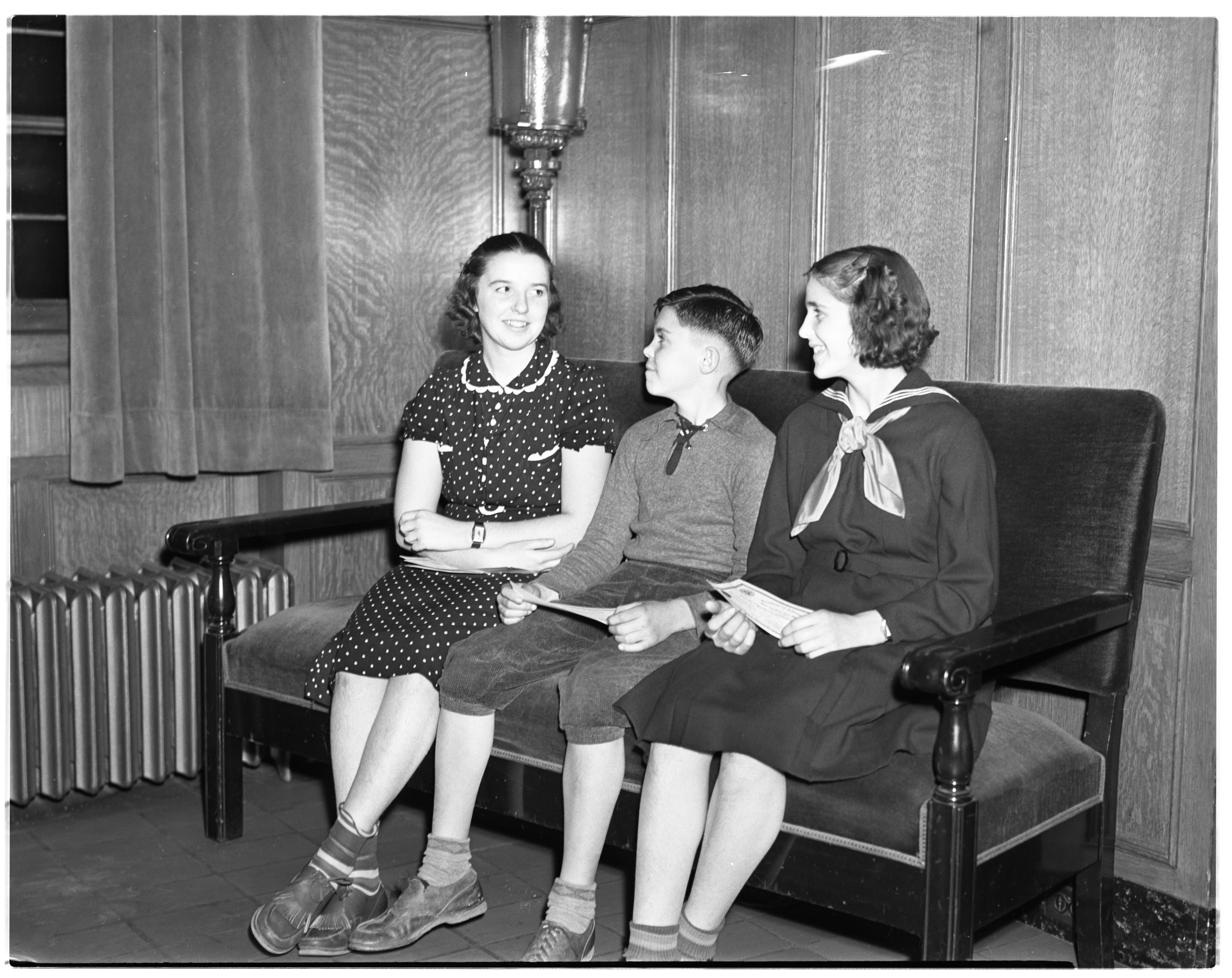 County Health Contest Winners, November 1937 image