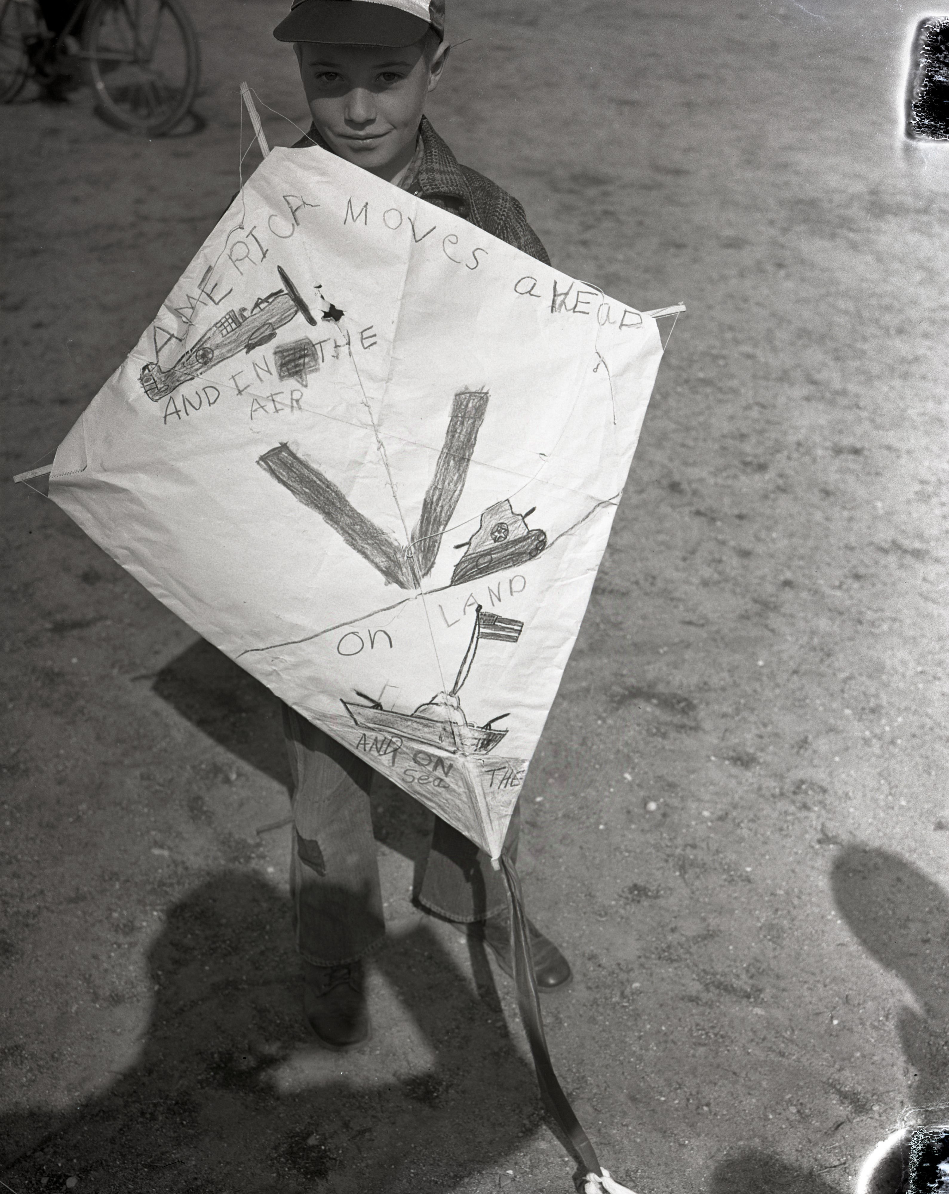 Ronald Hieber wins the Cub Kite Tourney, April 1942 image