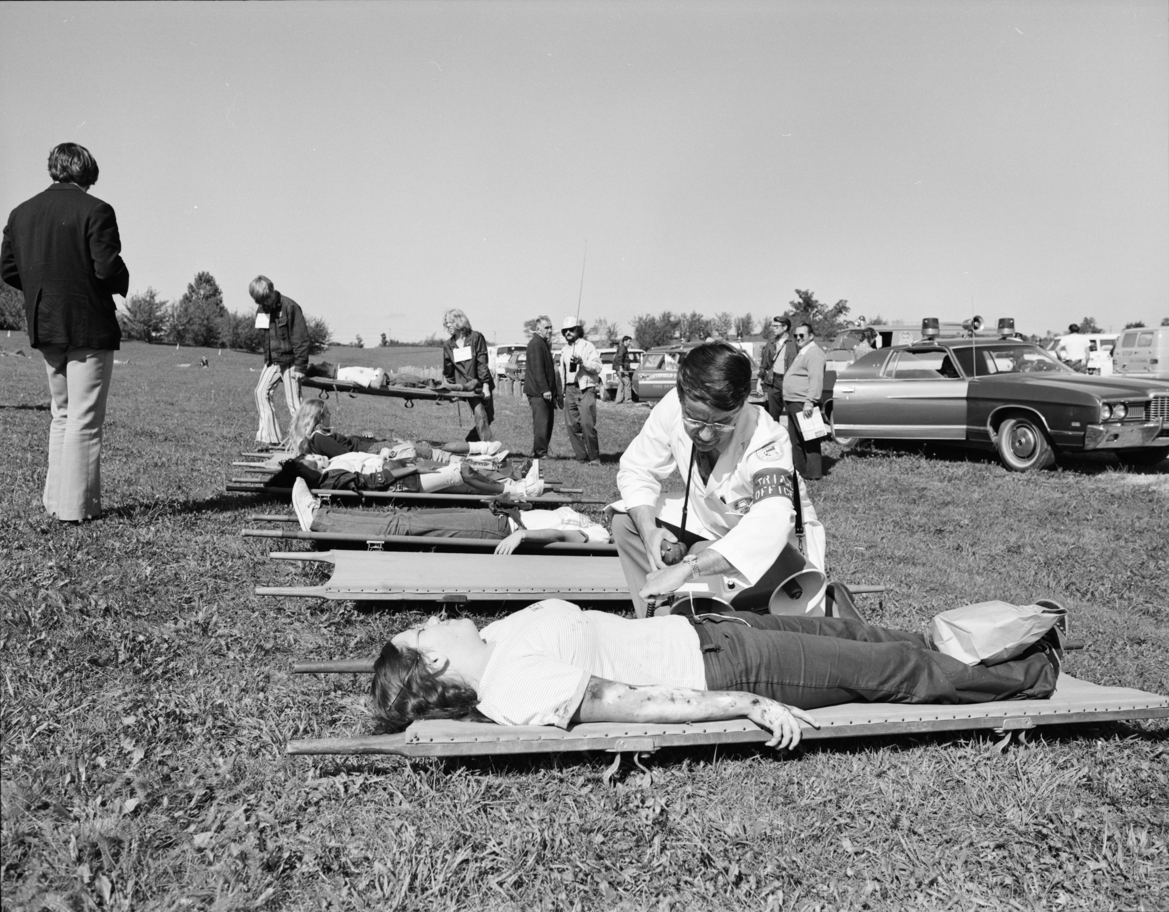 Mock Disaster Training Exercise, September 1972 image