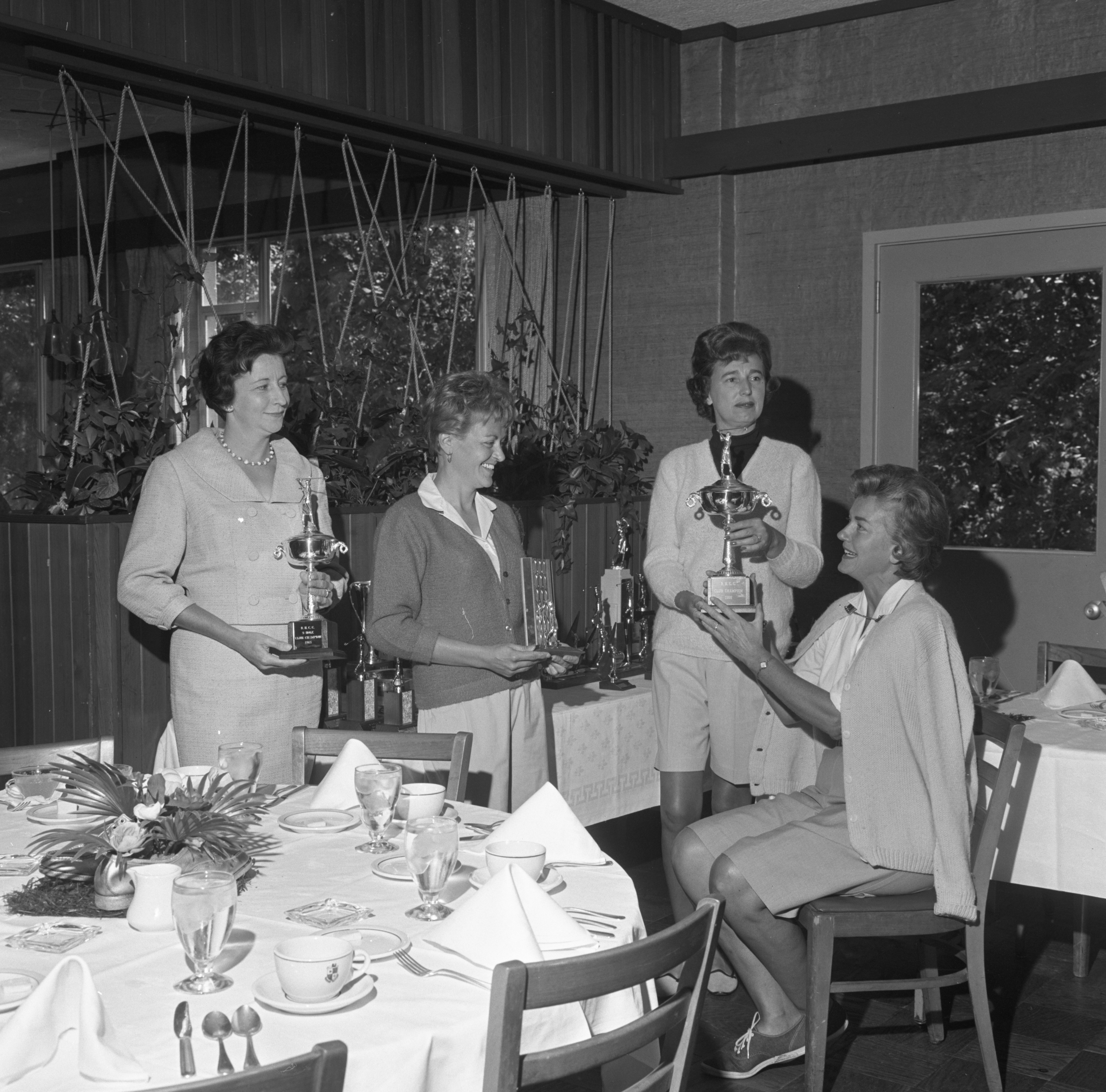 Women Golfers At Barton Hills Country Club Awards Brunch, September 1965 image