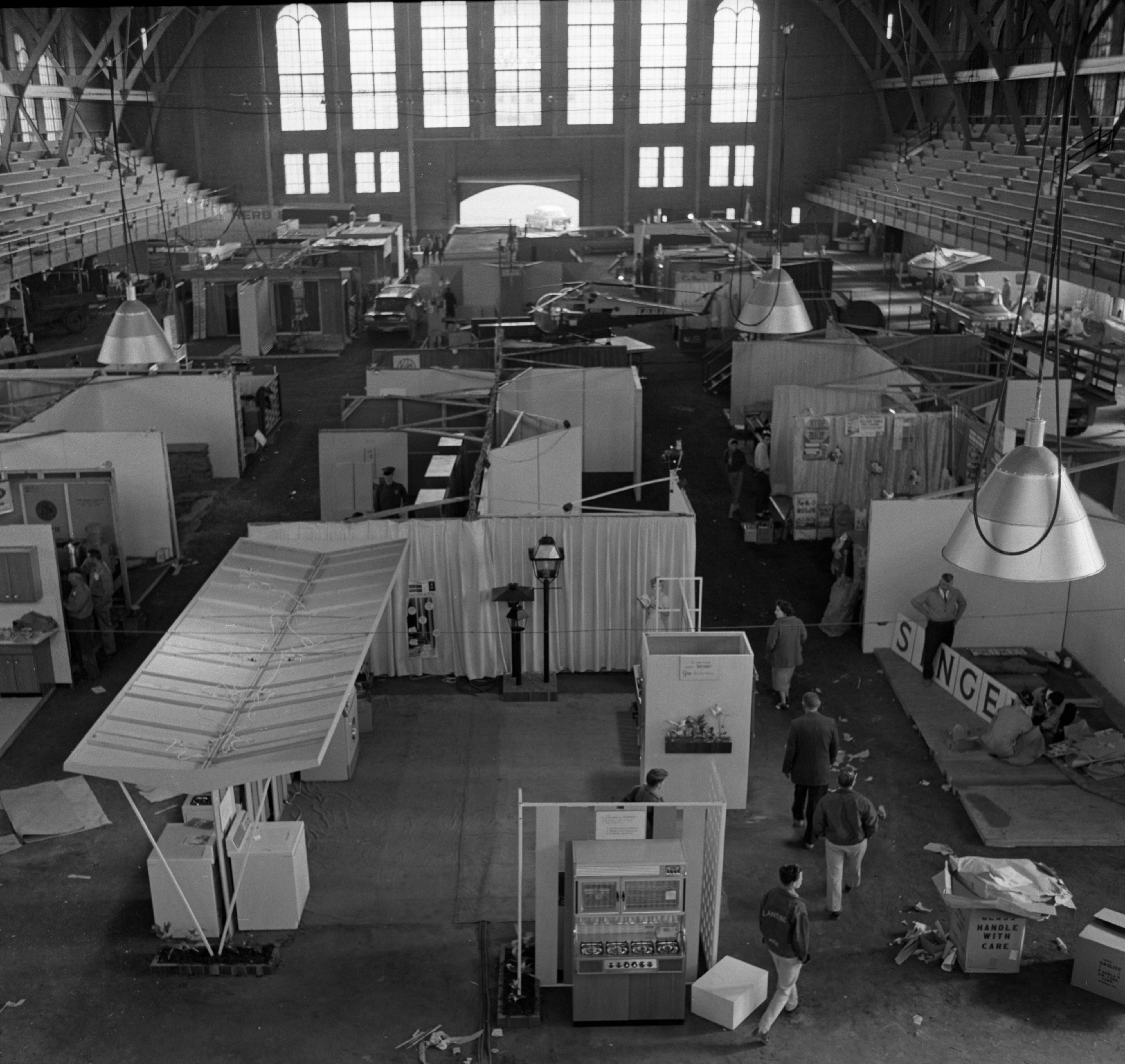 Annual Junior Chamber of Commerce Builders Show, April 1961 image