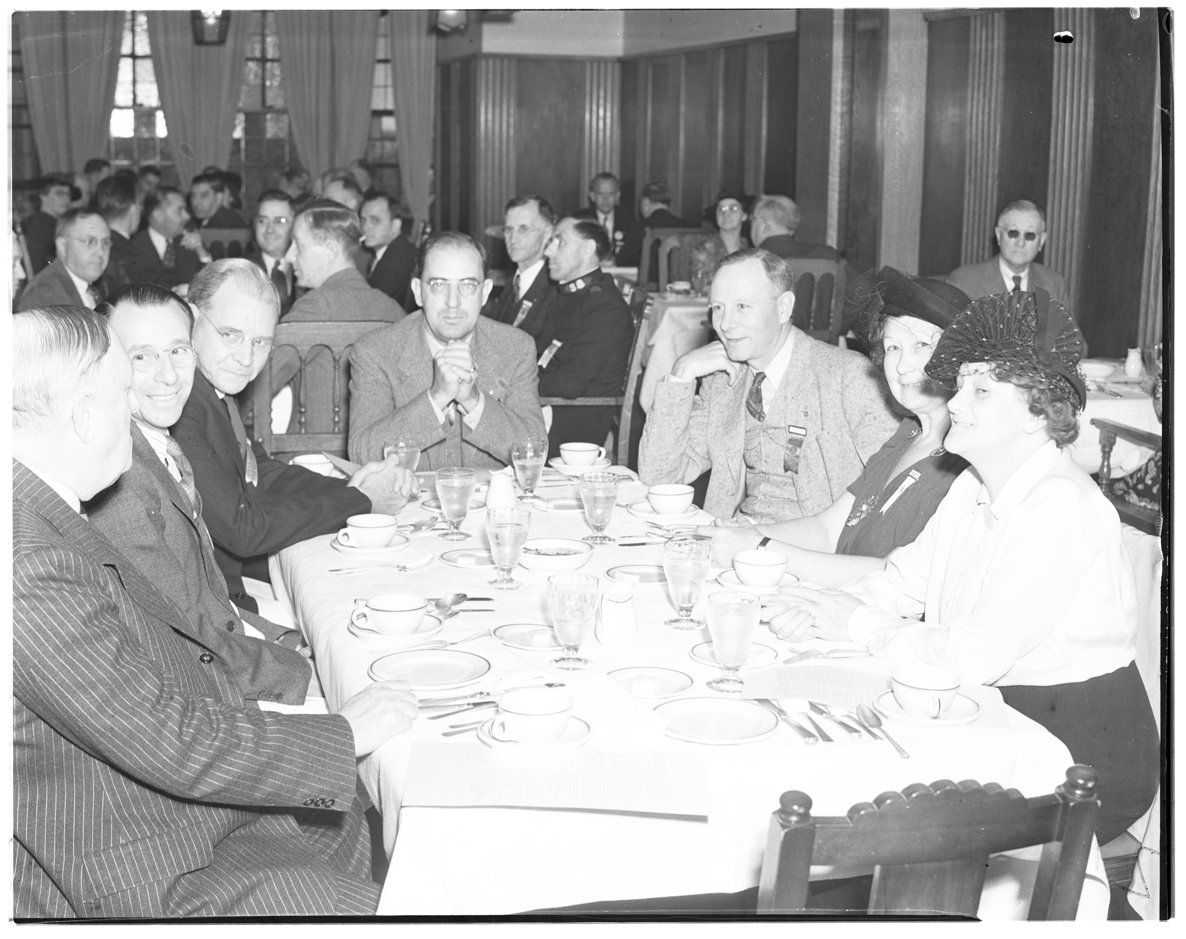 Breakfast at the Kiwanis State Convention, October 1938 image
