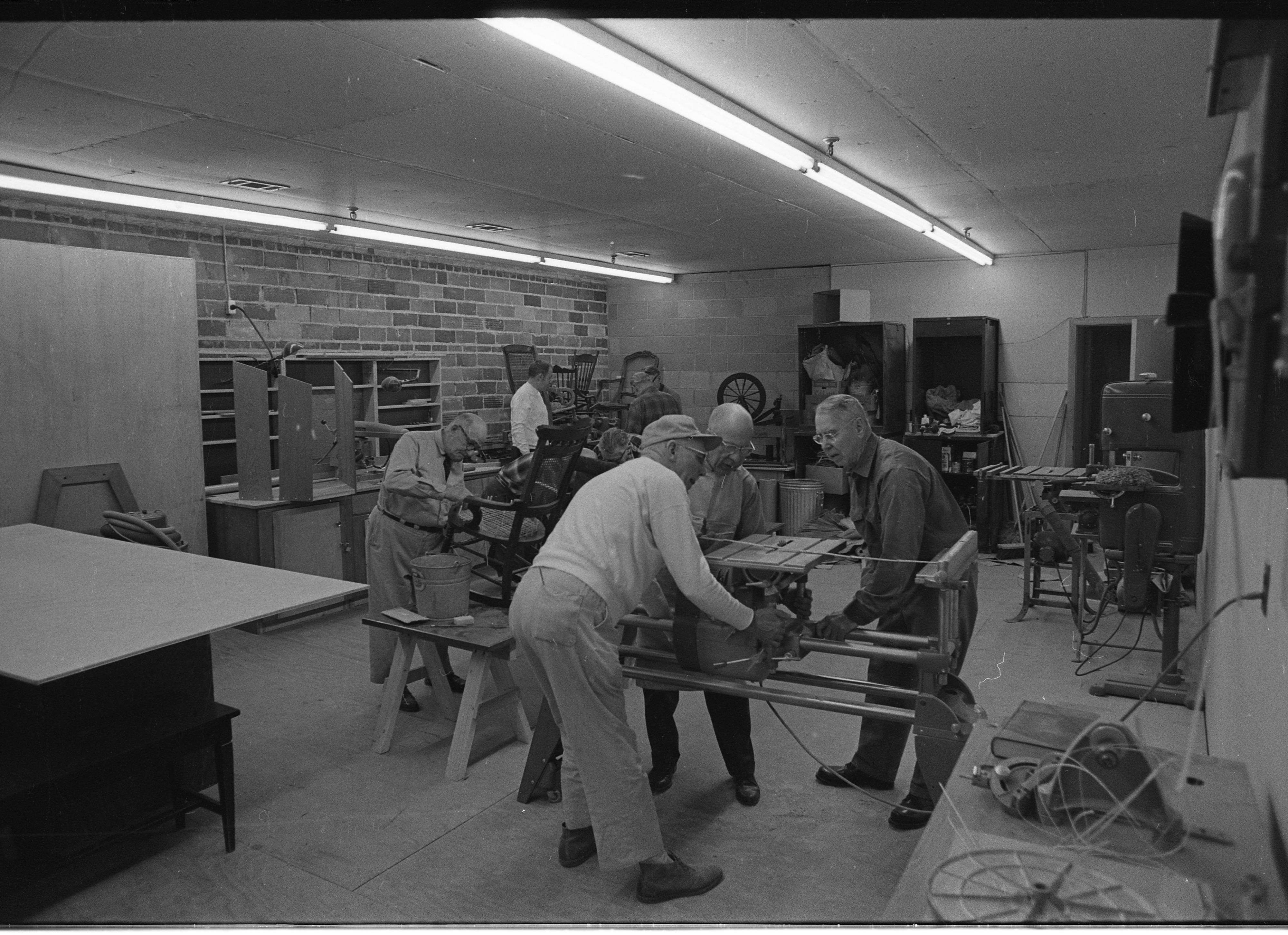 Kiwanis Club Furniture Repair March 1969