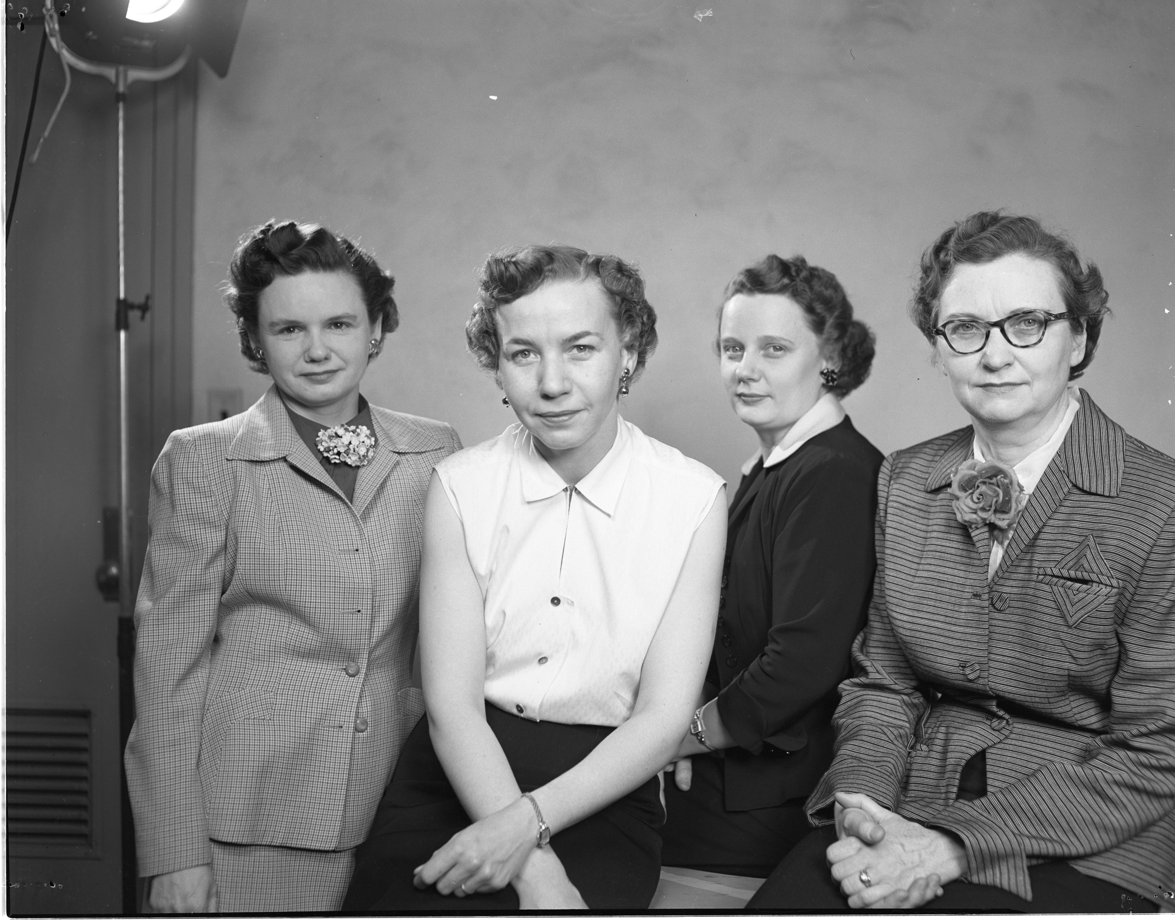 Newly Elected League Of Women Voters Officers, March 1953 image