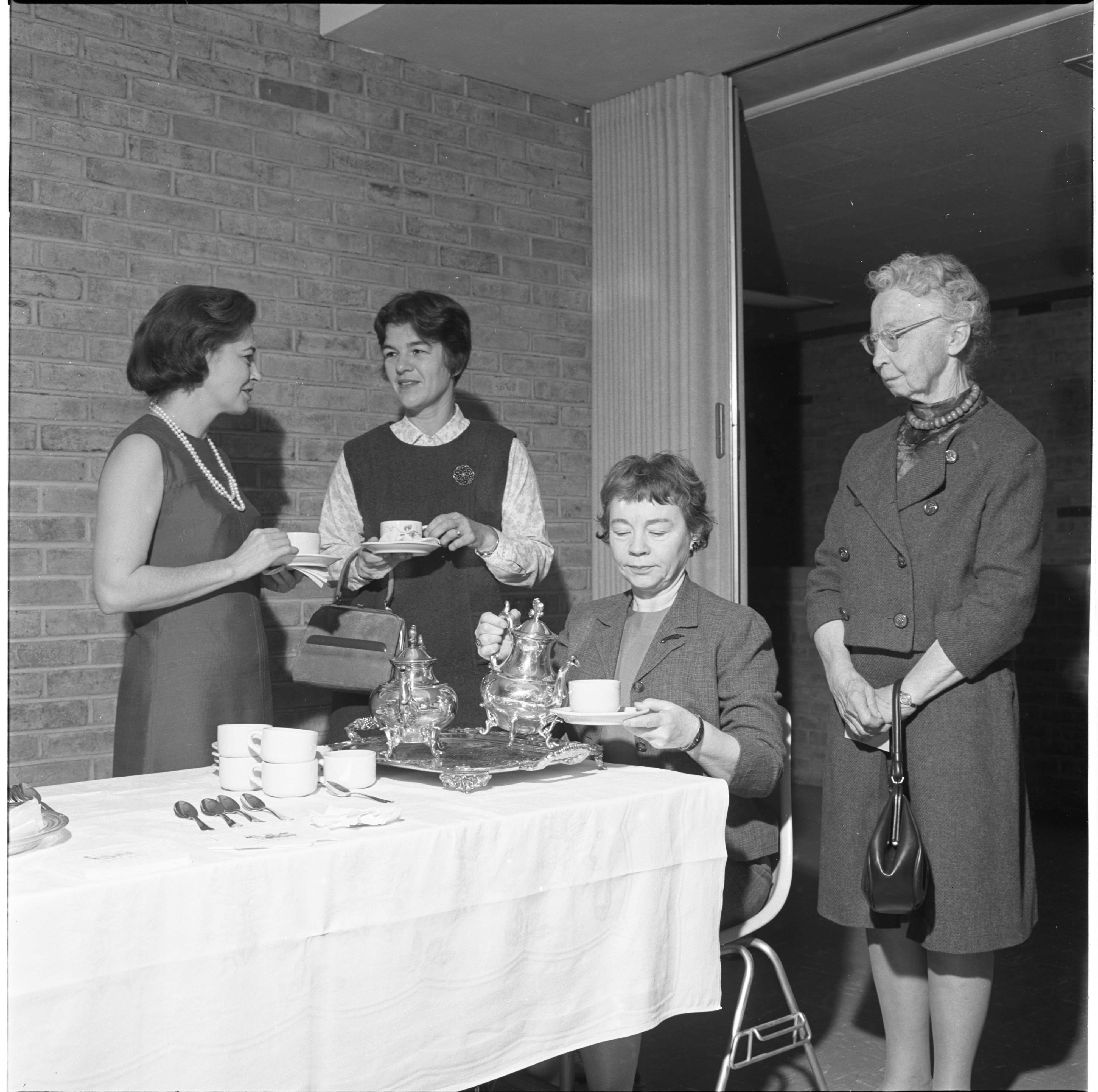 League Of Women Voters Membership Coffee, September 1966 image