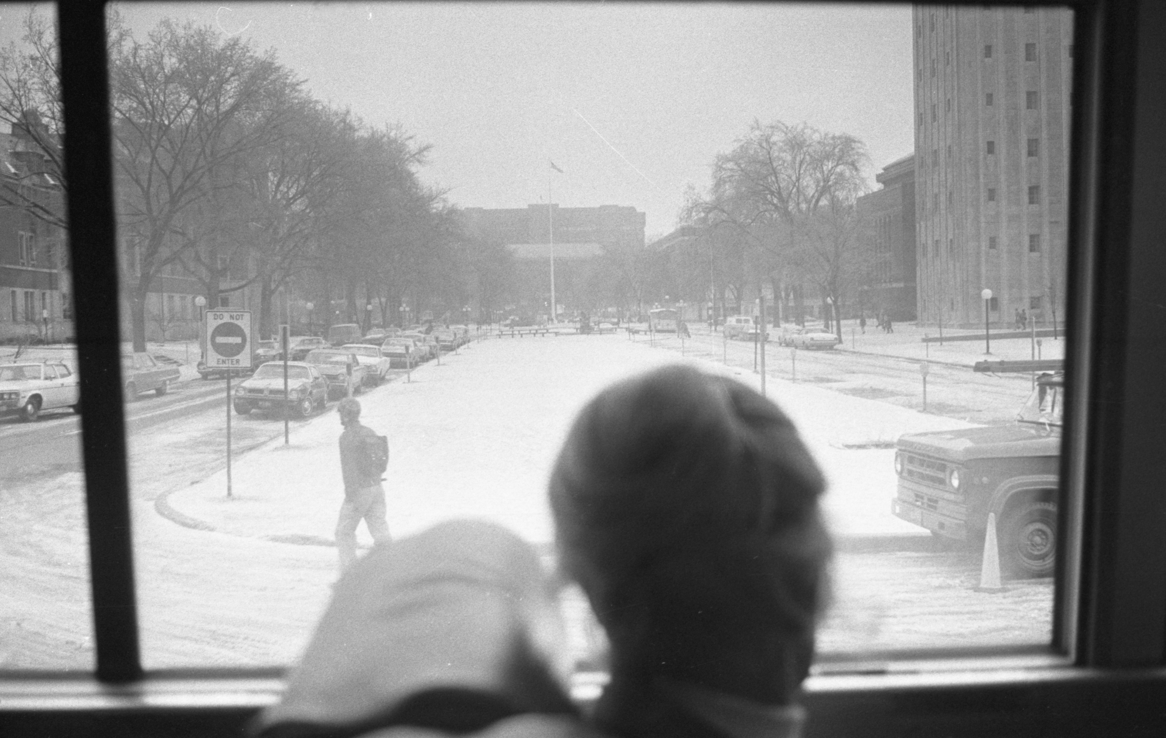 Ann Arbor League Of Women Voters Group Takes Bus Tour, April 1974 image