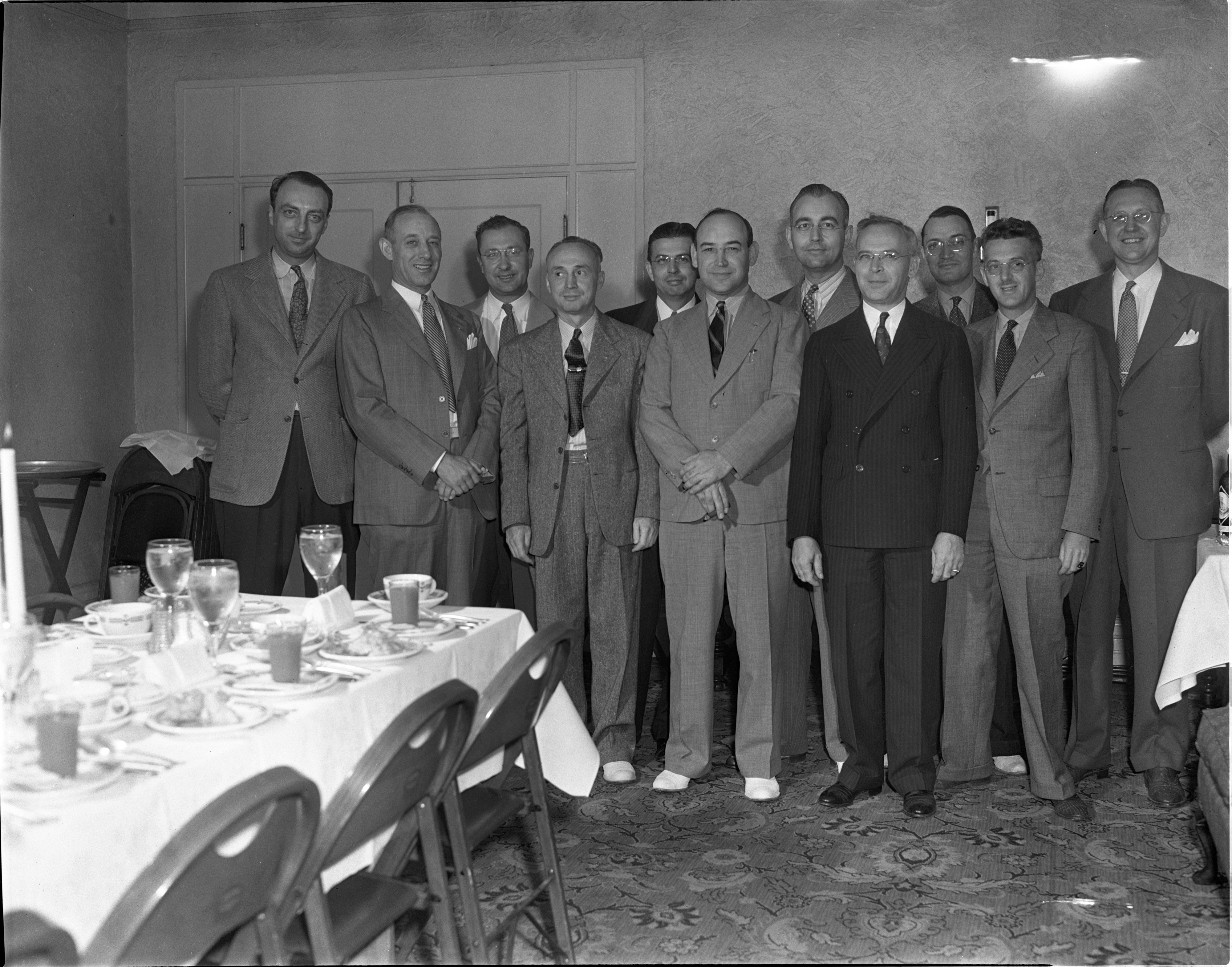 Ann Arbor Lions Club - Past Presidents, Circa 1940 image