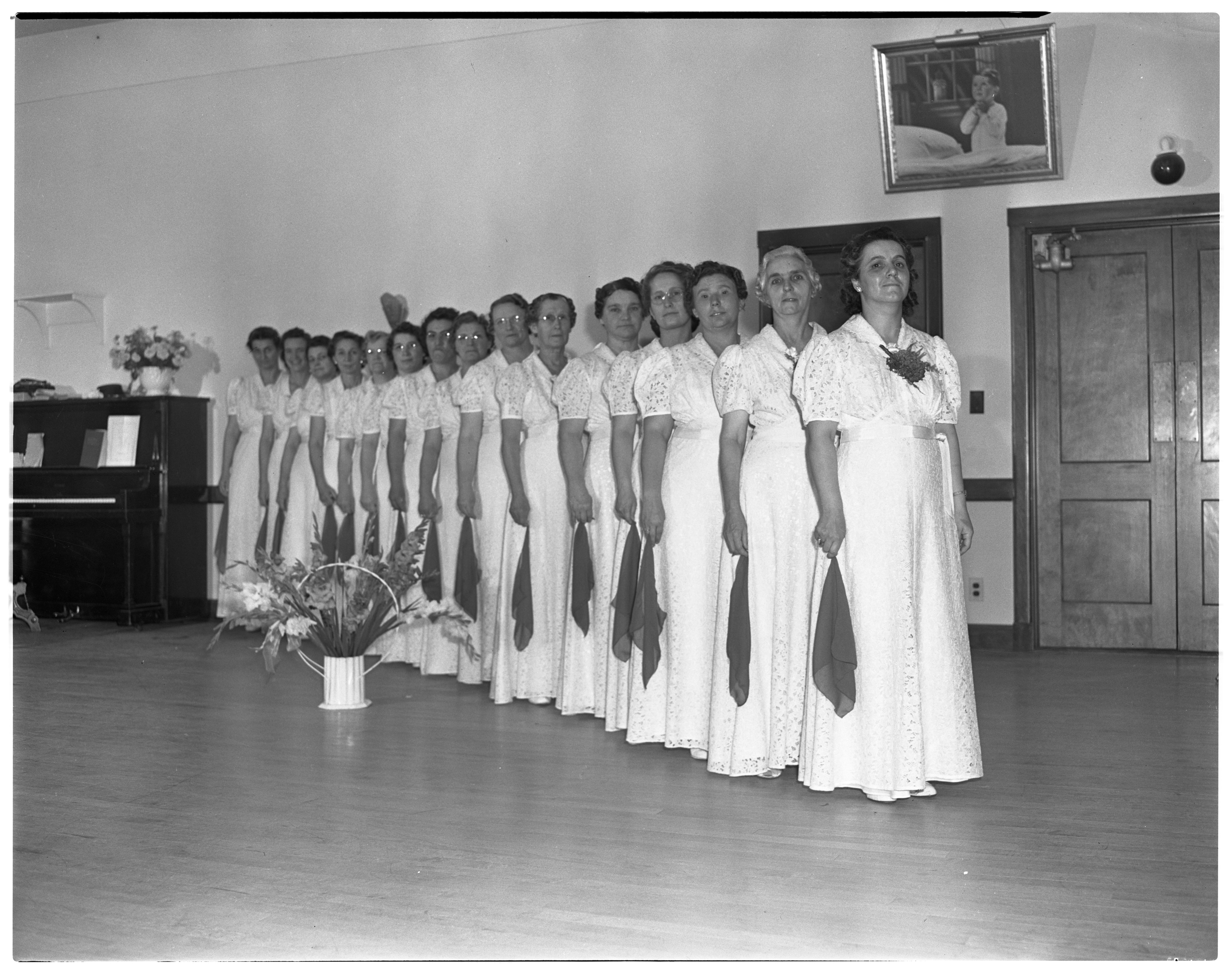 Royal Neighbors Of America Drill Team, Undated image