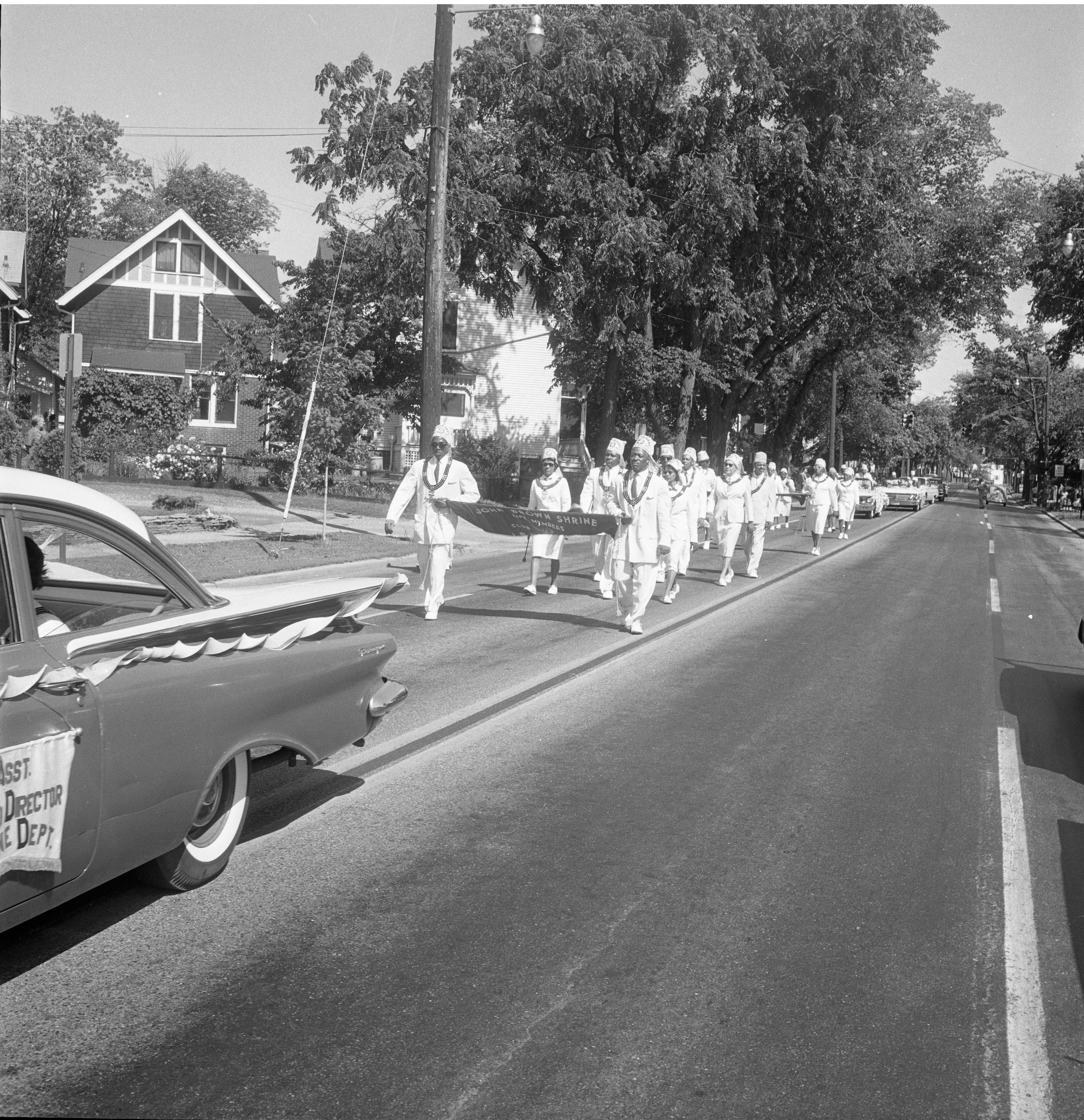 John Brown Shrine Marching In The 26th Annual Elks Convention Parade, June 25, 1962 image