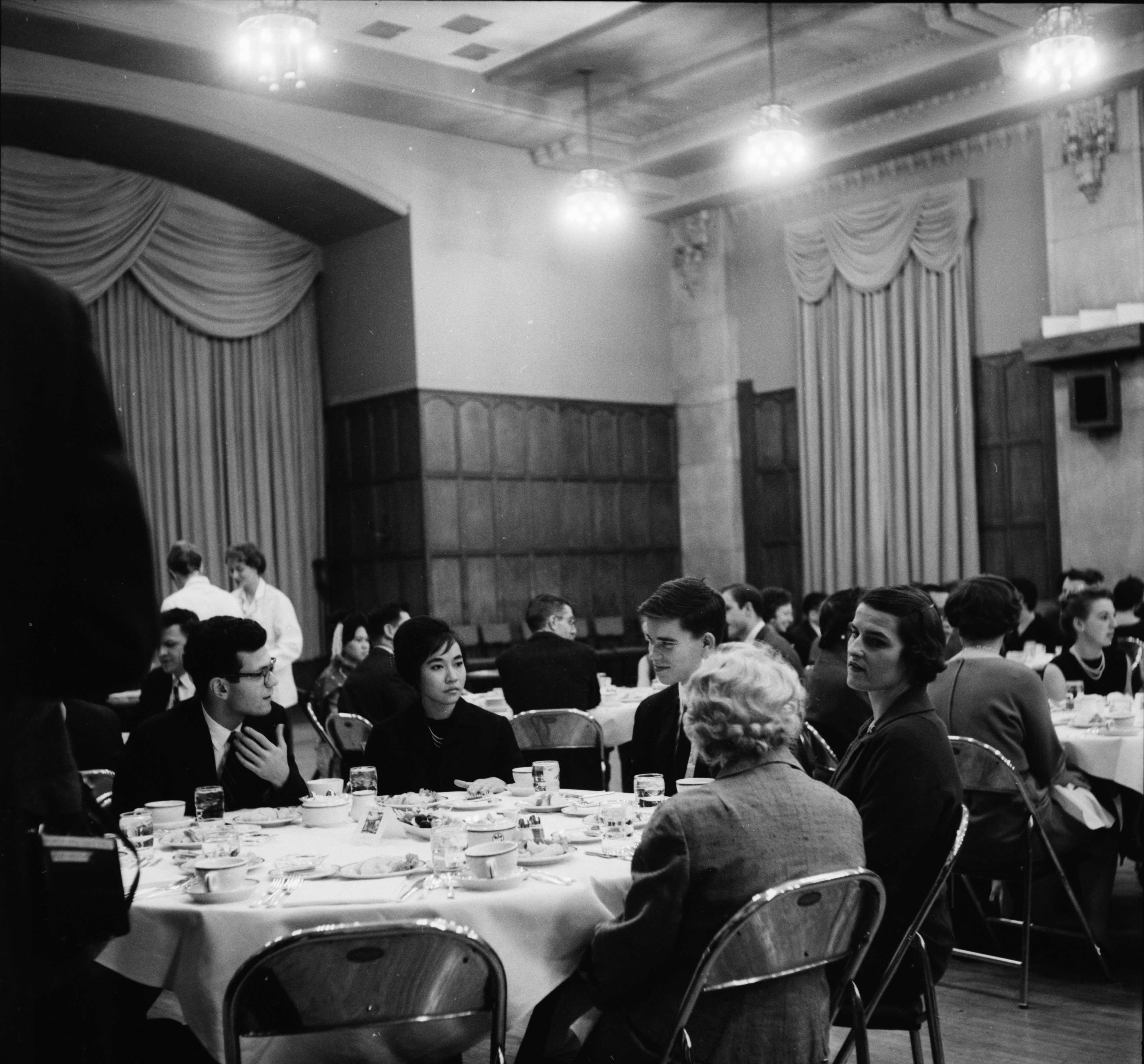 University of Michigan Peace Corps Banquet, January 1962 image