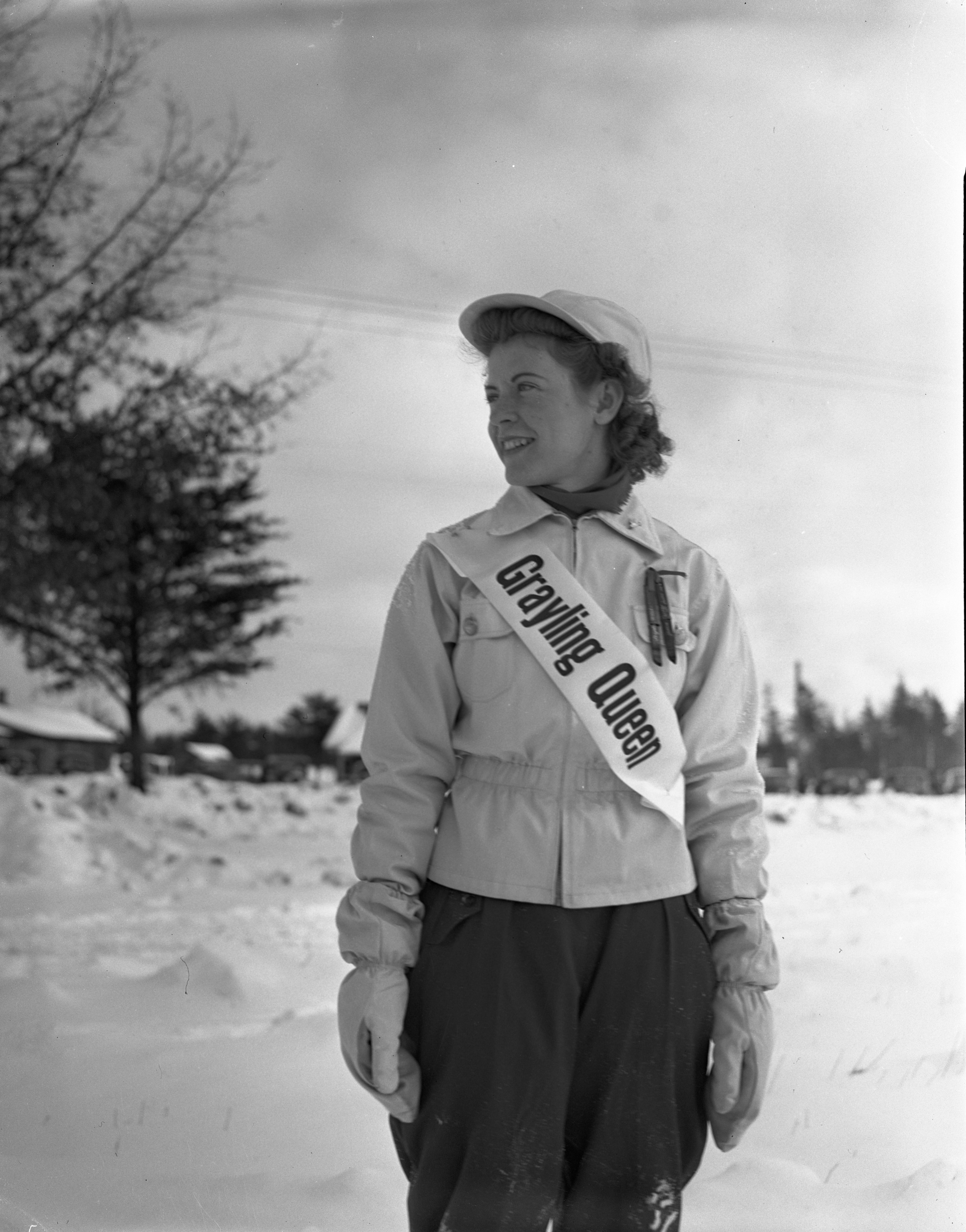 Grayling Queen Yvonne Bradley, January 1941 image