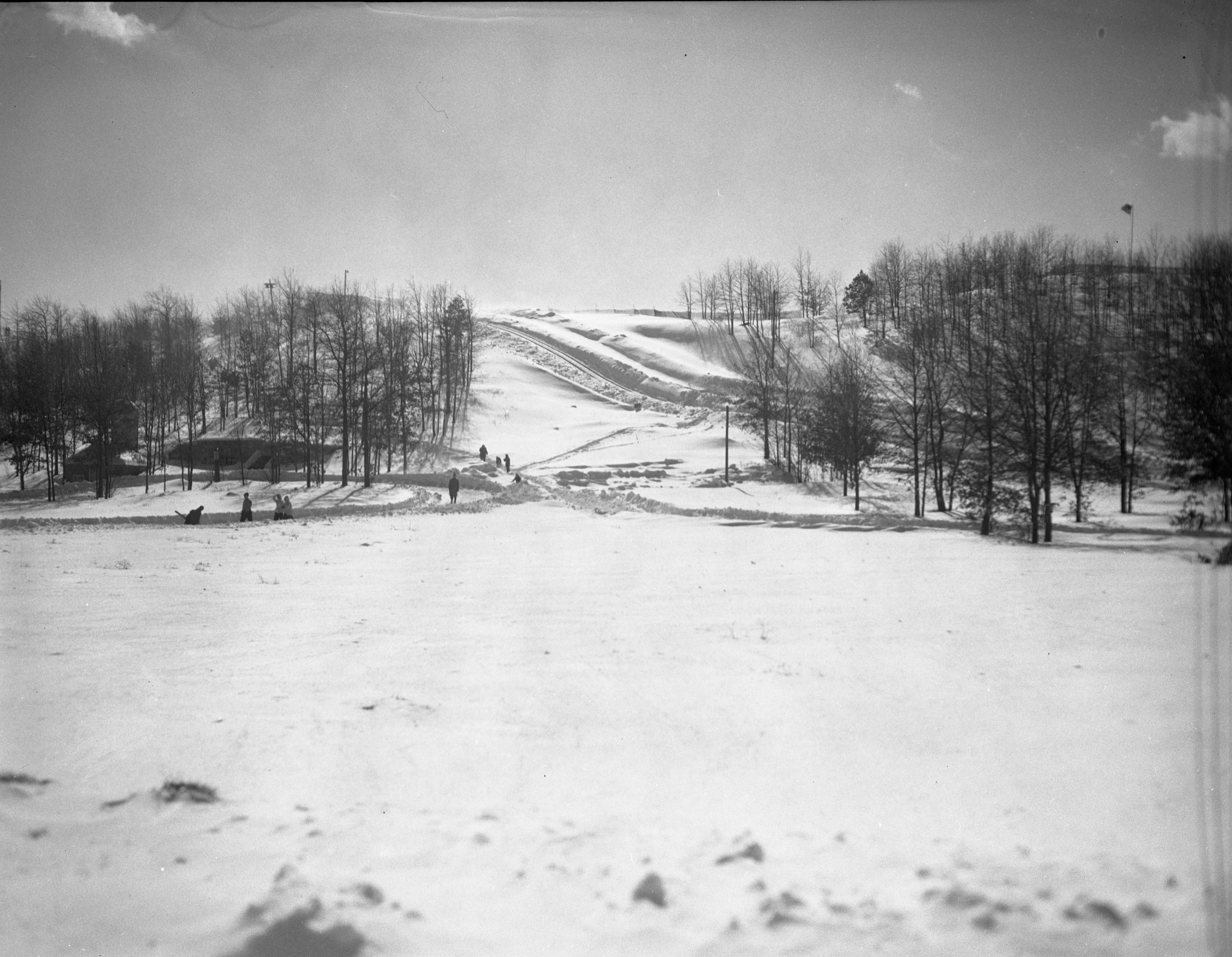 Grayling Winter Sports Area, February 1946 image