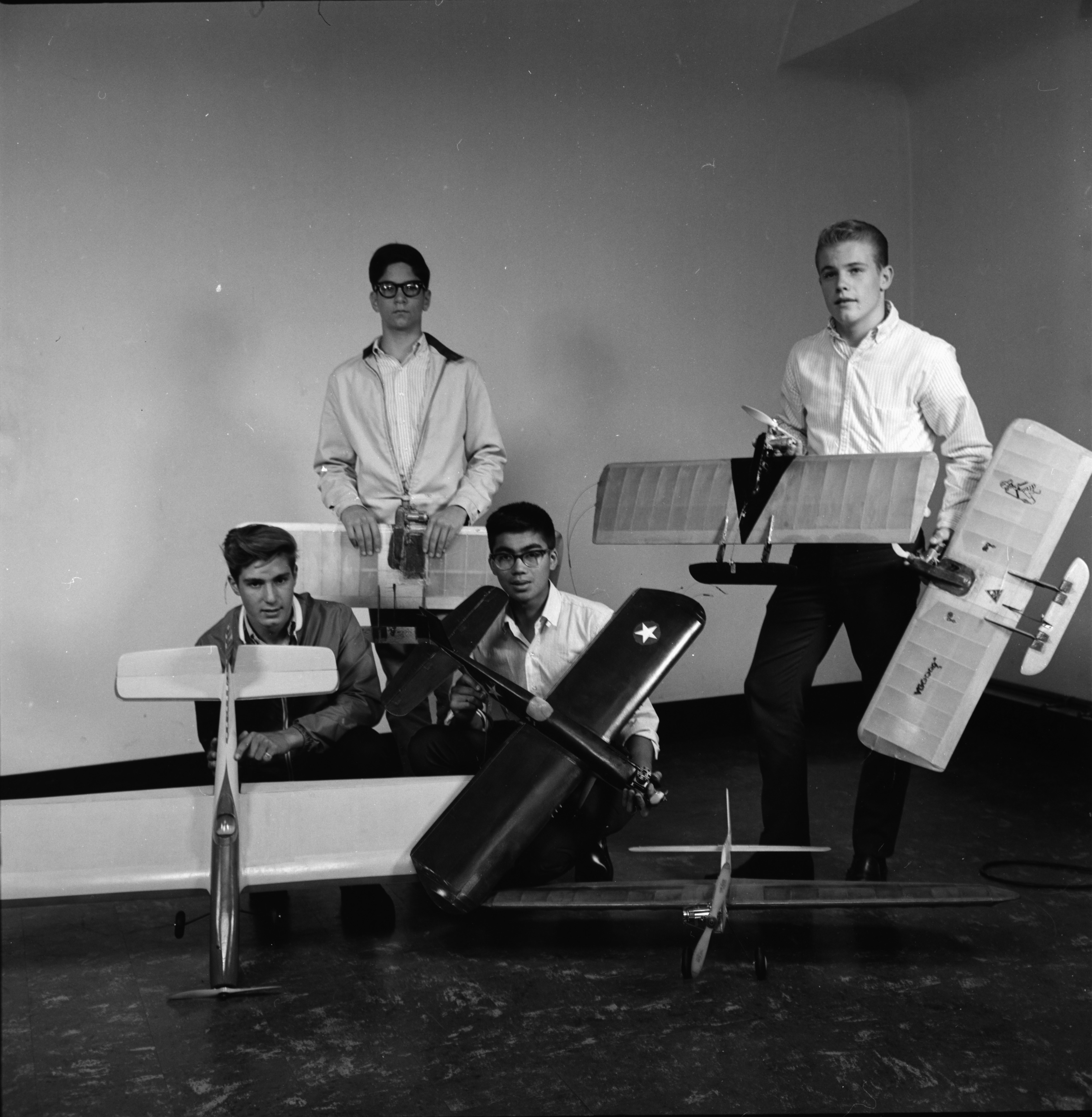 Youths to Fly Model Airplanes at Municipal Airport, September 1964 image