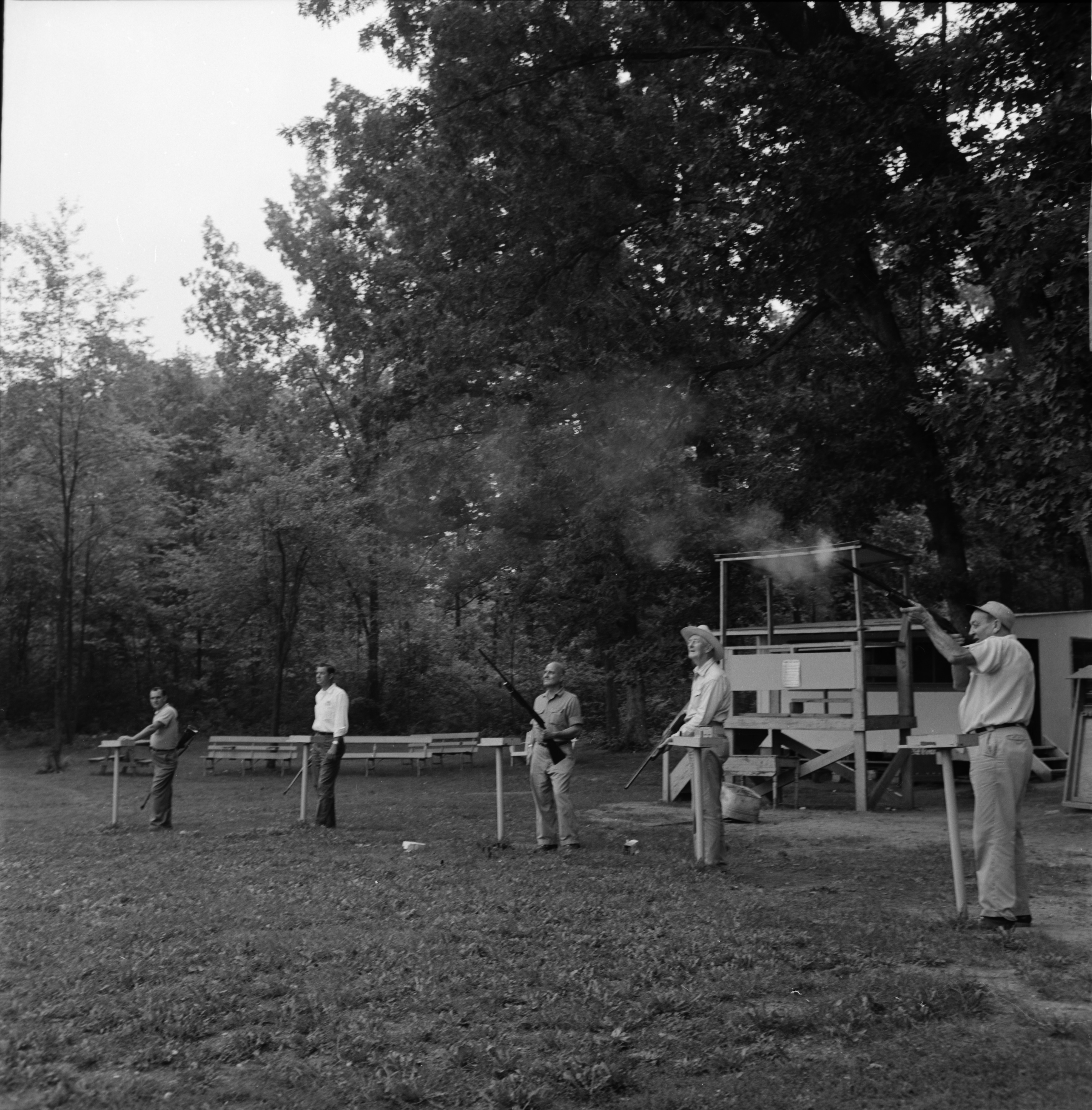 Moose Sportsmen Trapshooting, September 1965 image