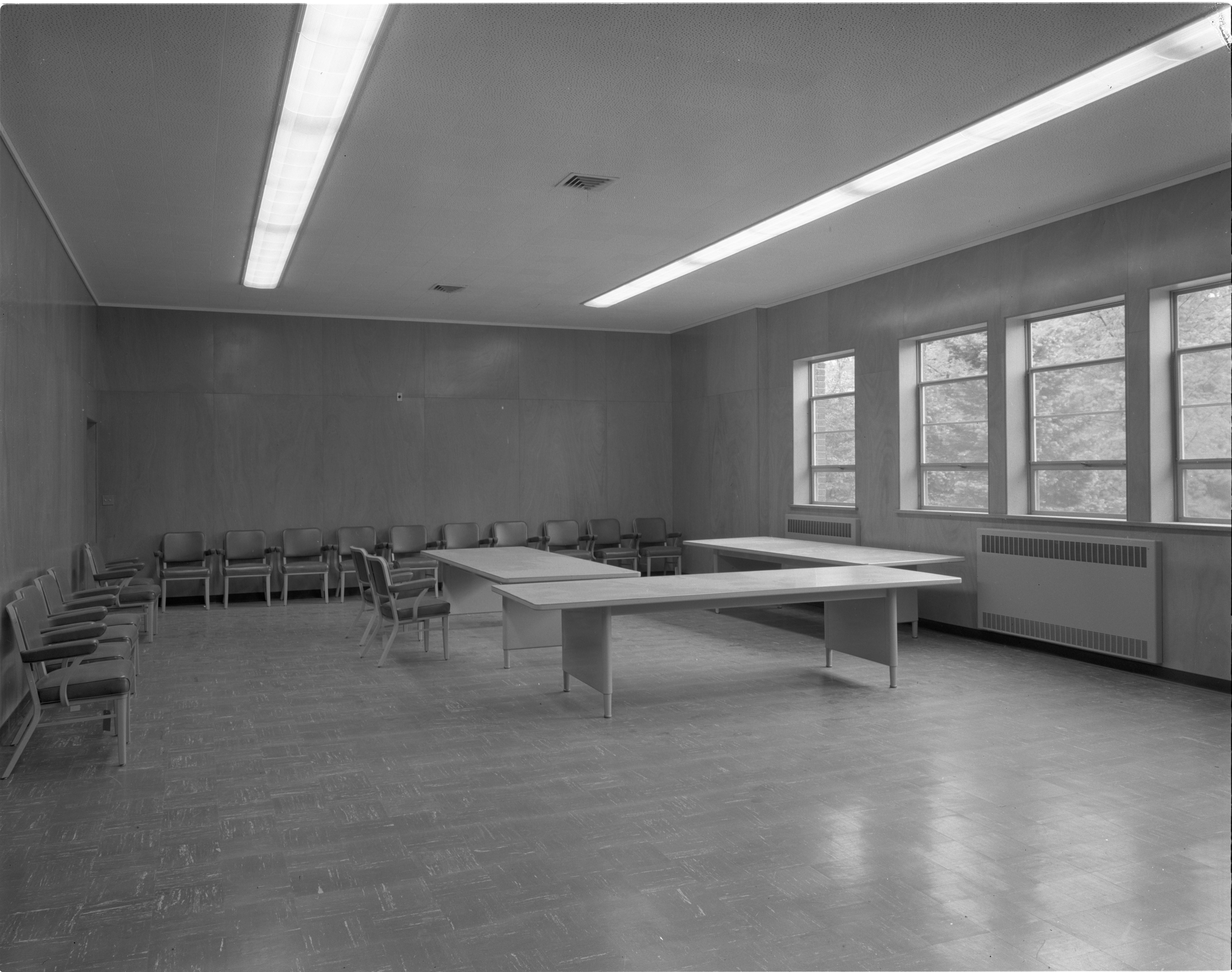 Ann Arbor Public Schools Administration Building - Board Meeting Room, May 1957 image