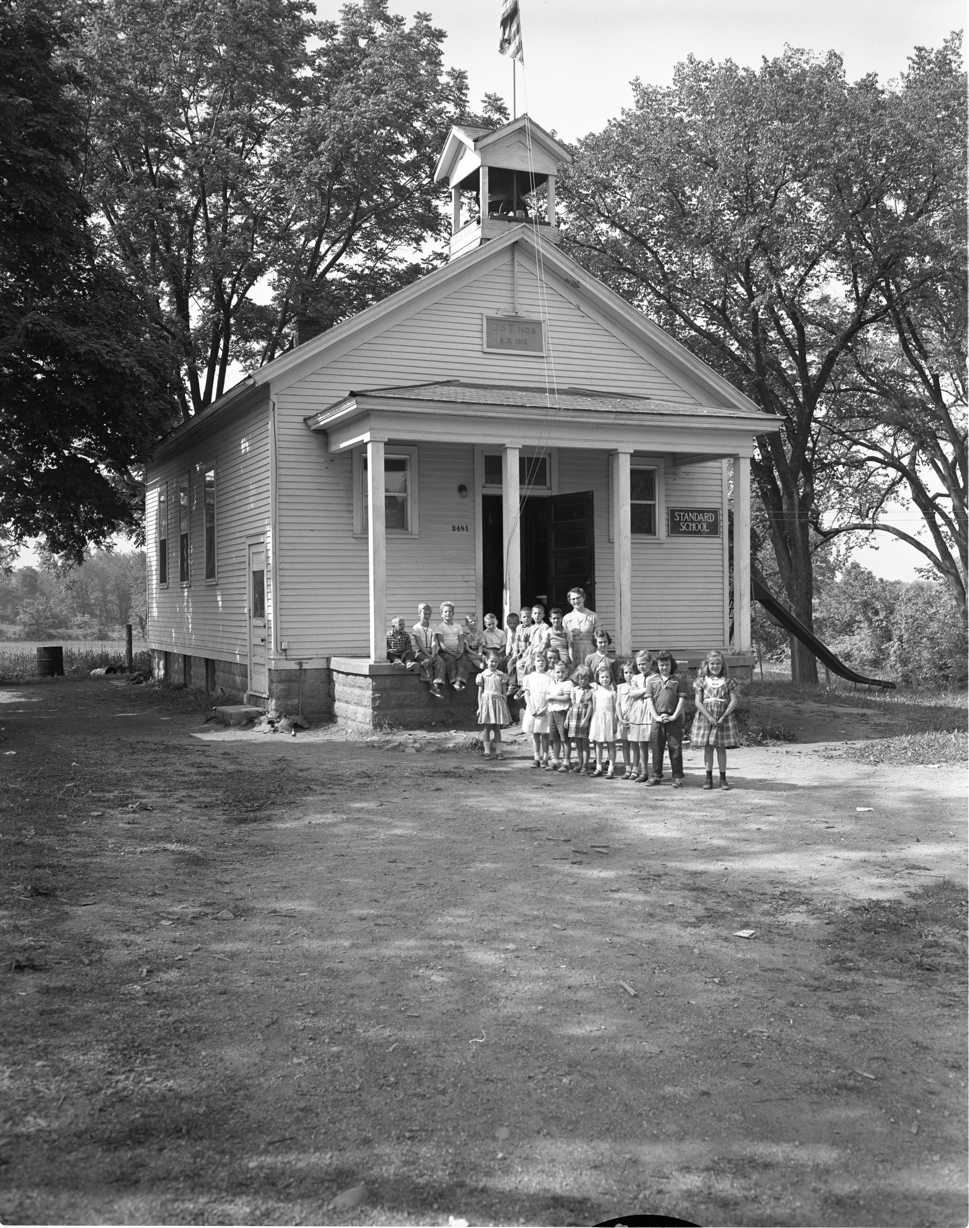 Image from Dold School, June 1957