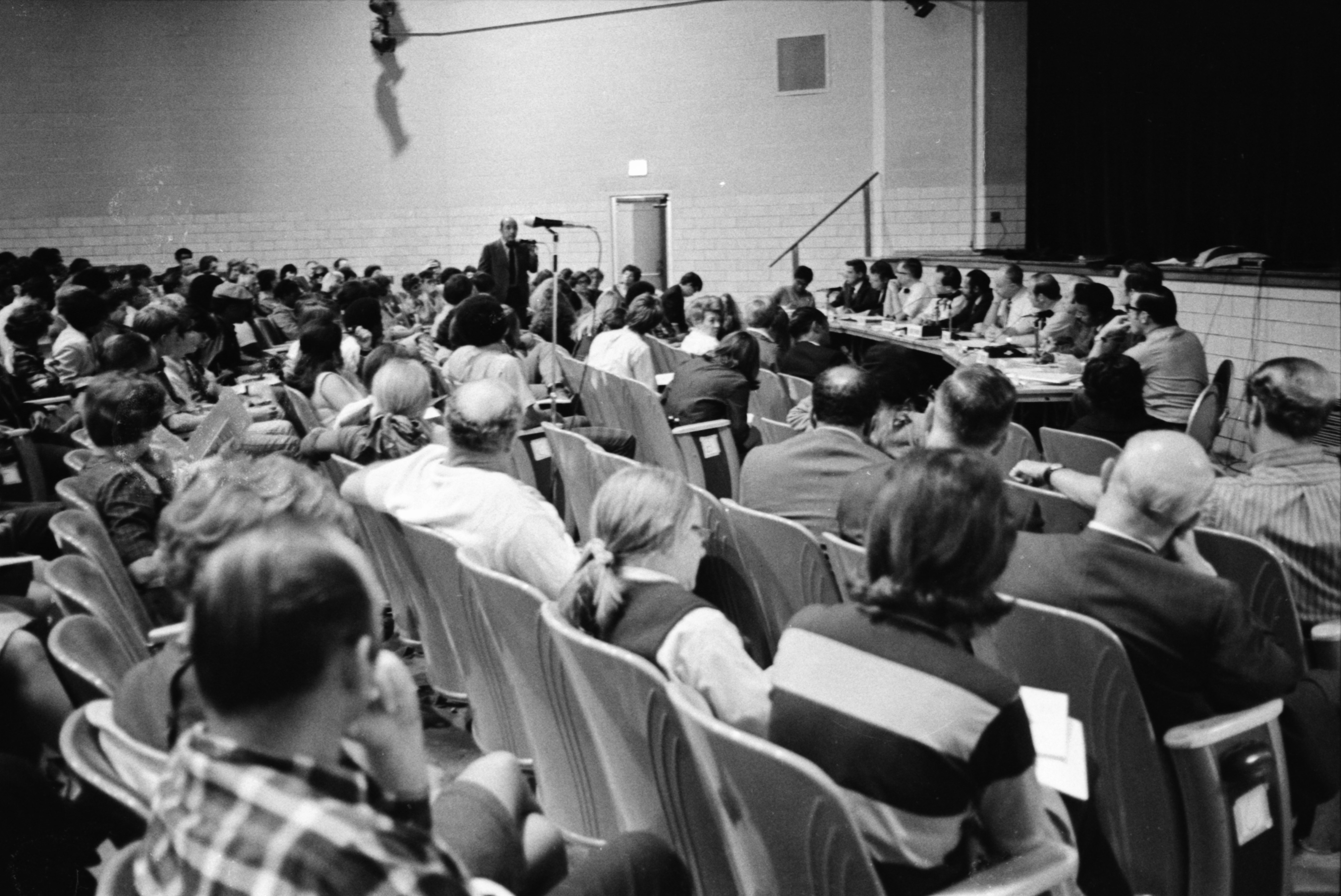 Community Forum Discusses Riot At Pioneer High School, October 1970 image