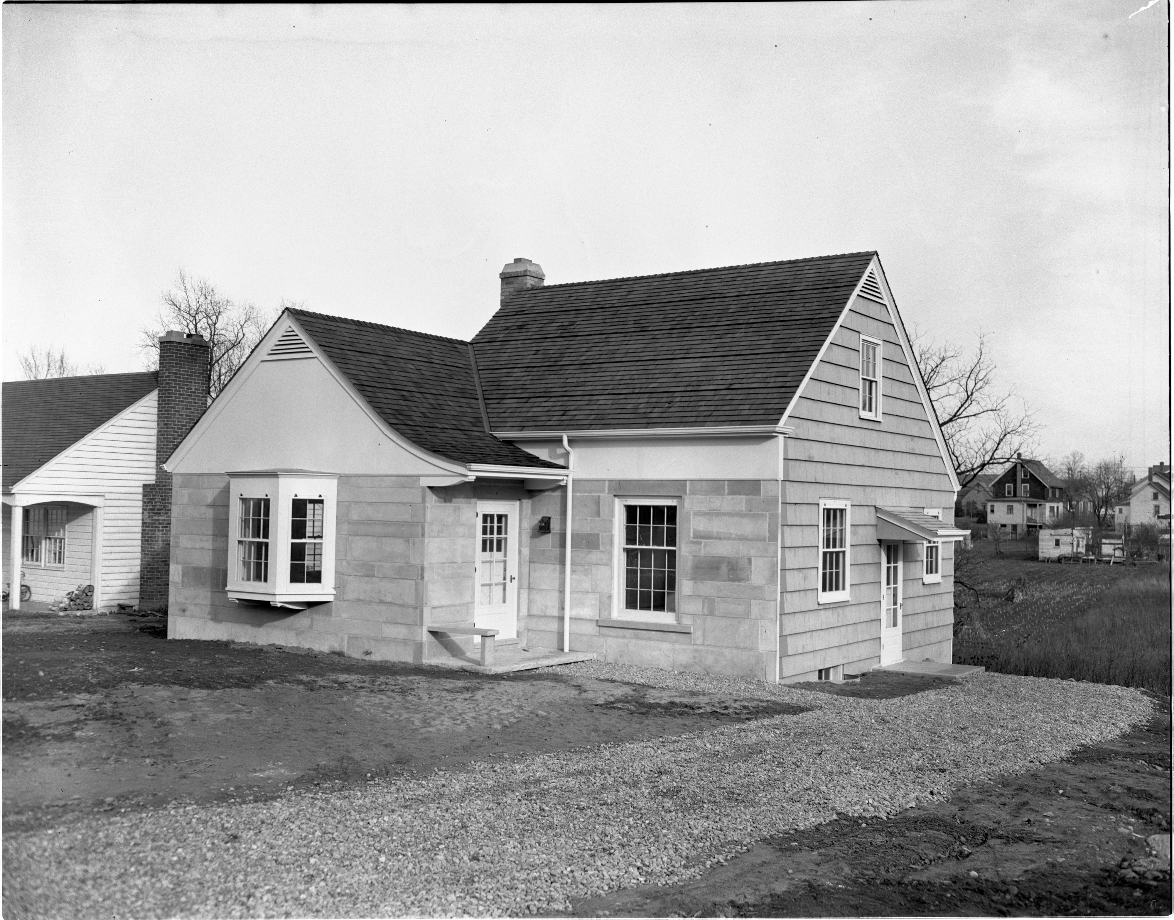 803 Mt. Pleasant Avenue - New Home Built By Ann Arbor High School Students, December 1946 image