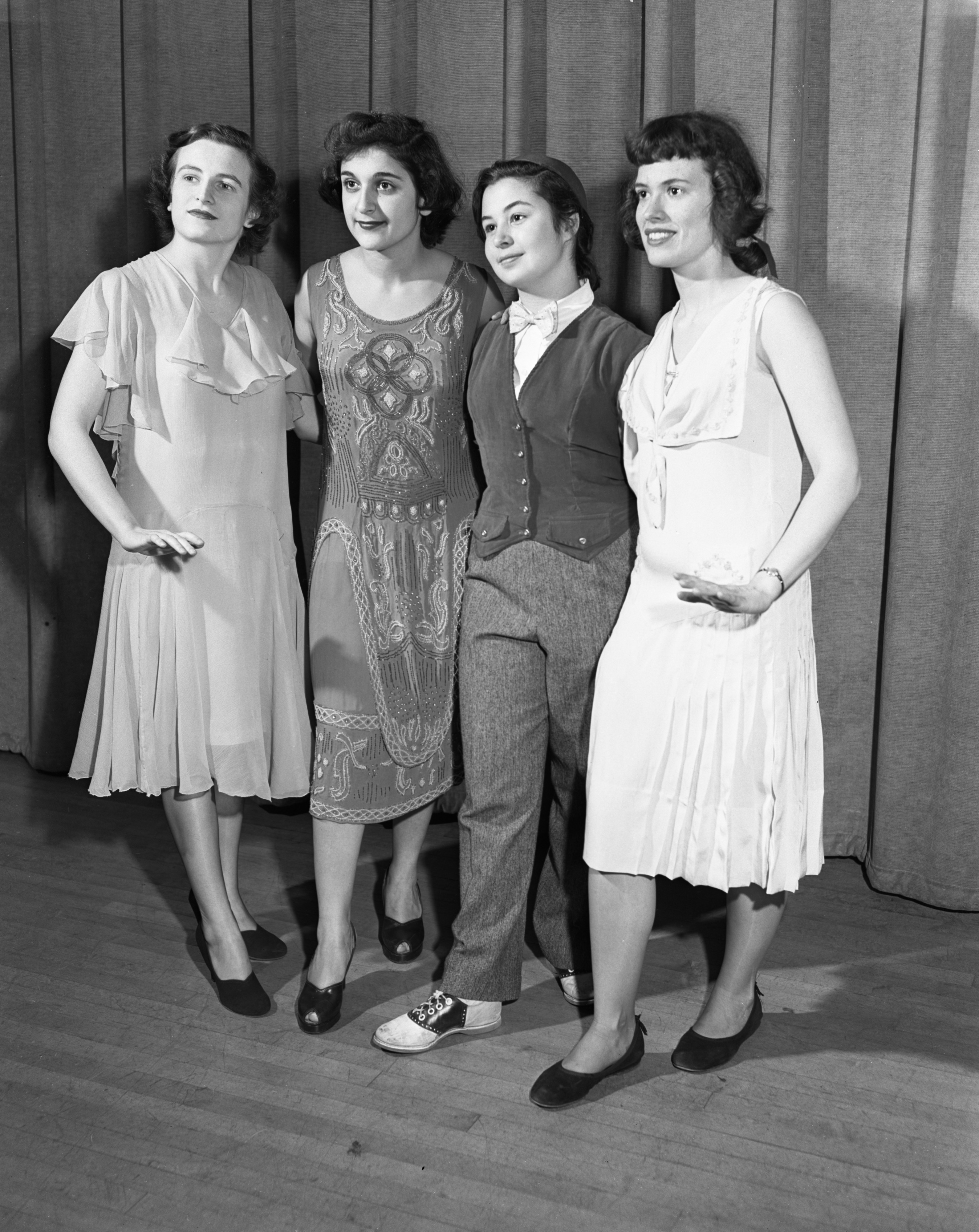 Ann Arbor High School Girls Costume Dance, April 1950 image