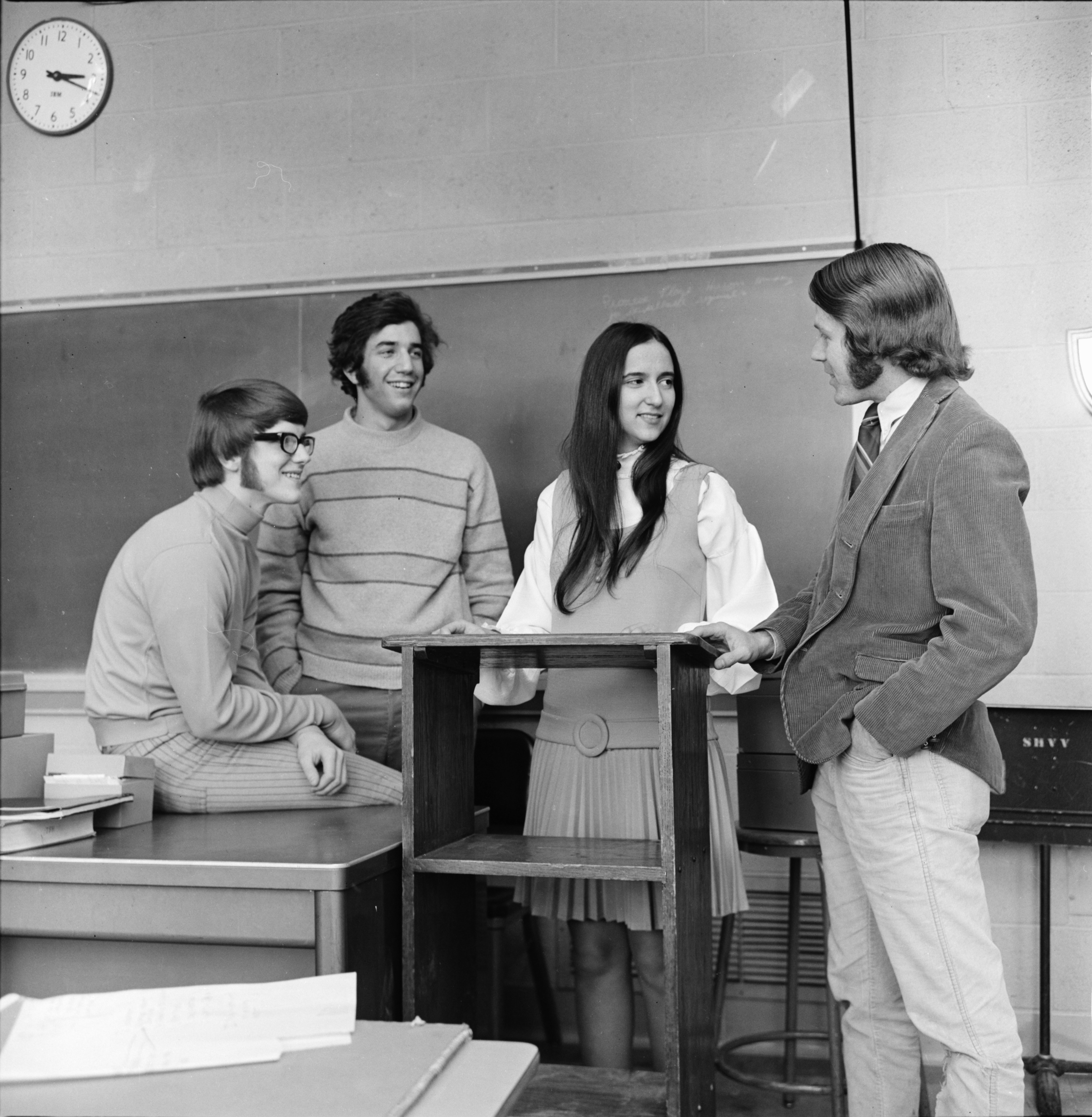 Pioneer High School Debaters, March 1970 image