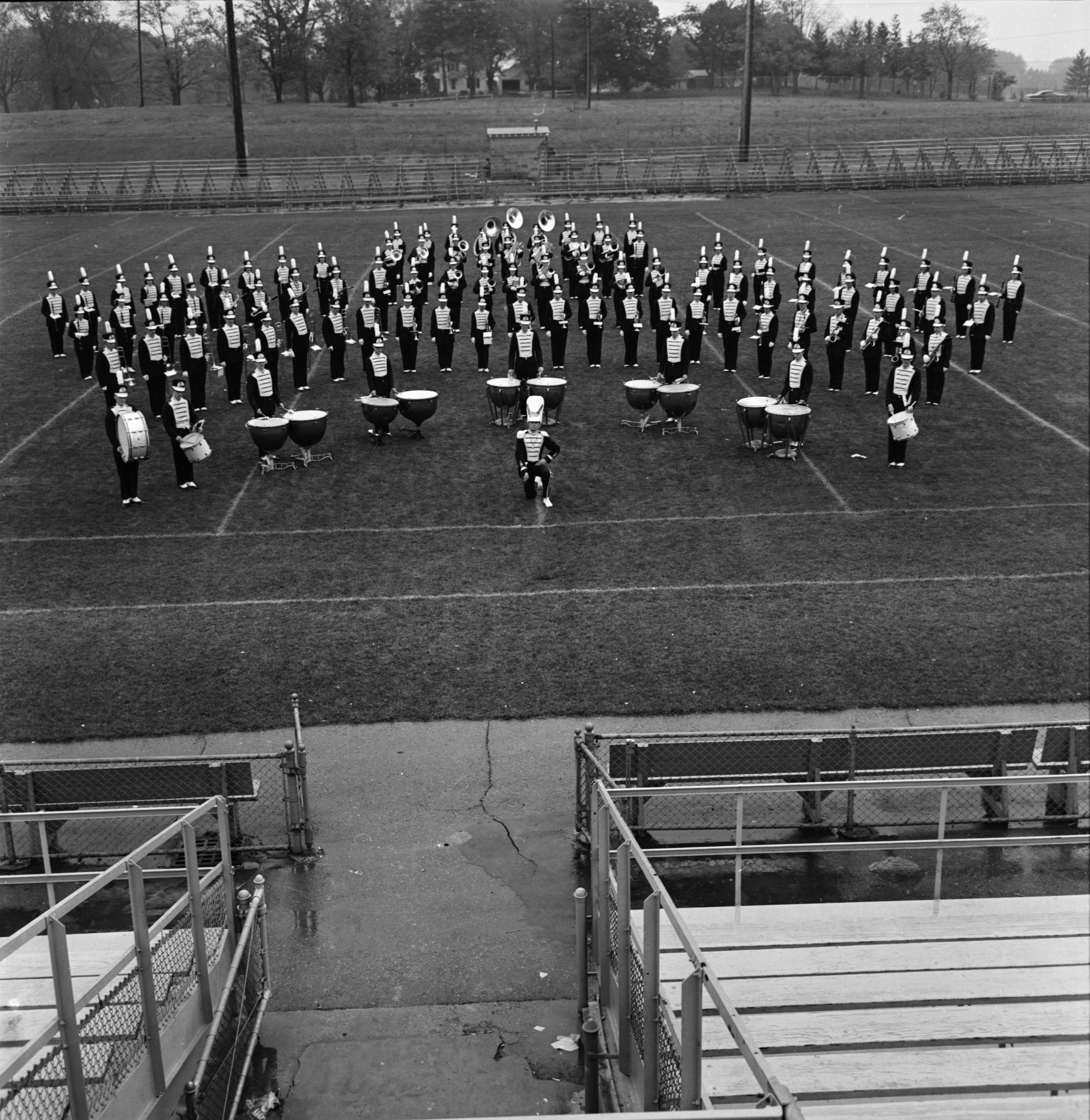 Ann Arbor High School Band, October 1964 image