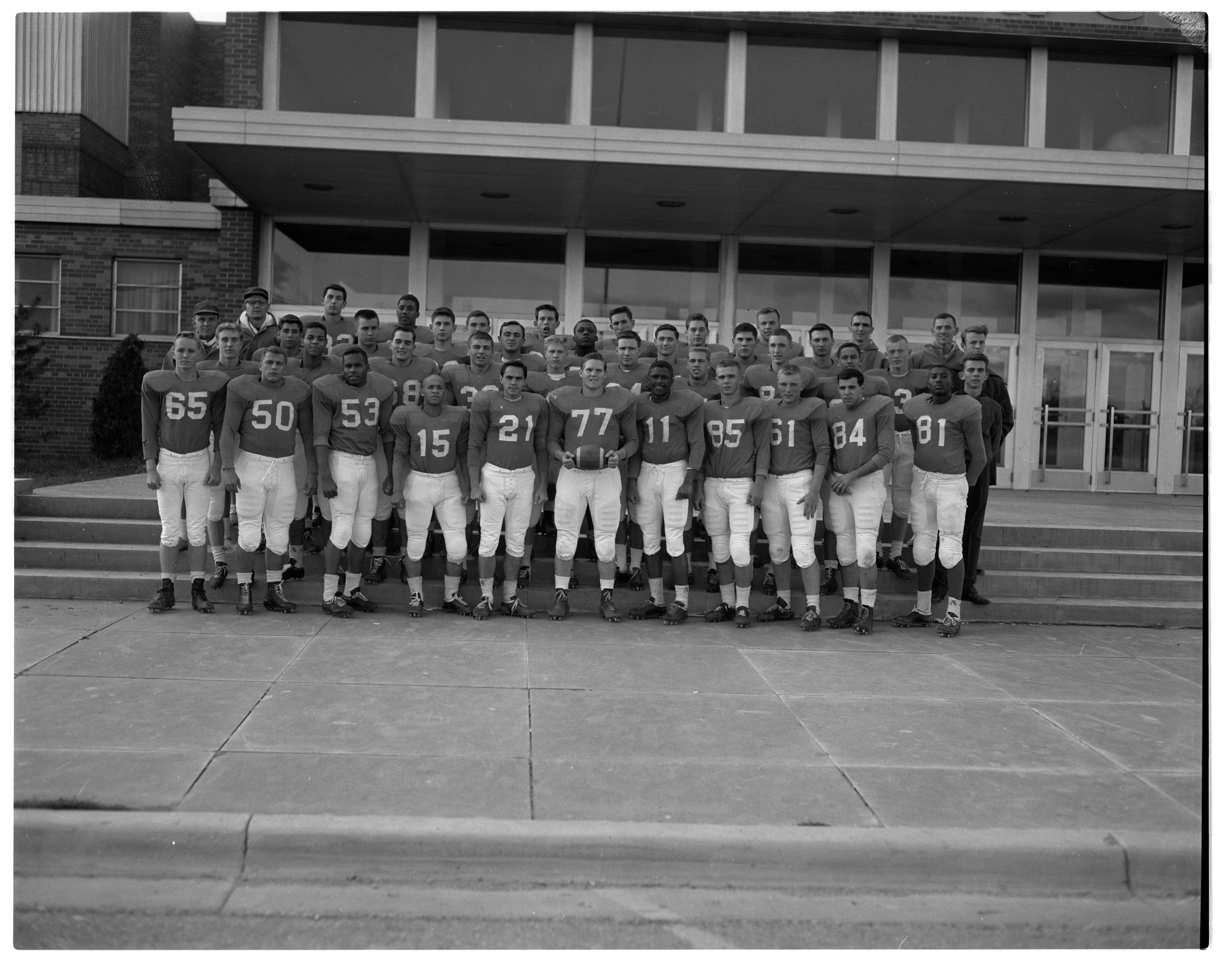 Ann Arbor High Football Team Wins Class A State Championship, November 1962 image