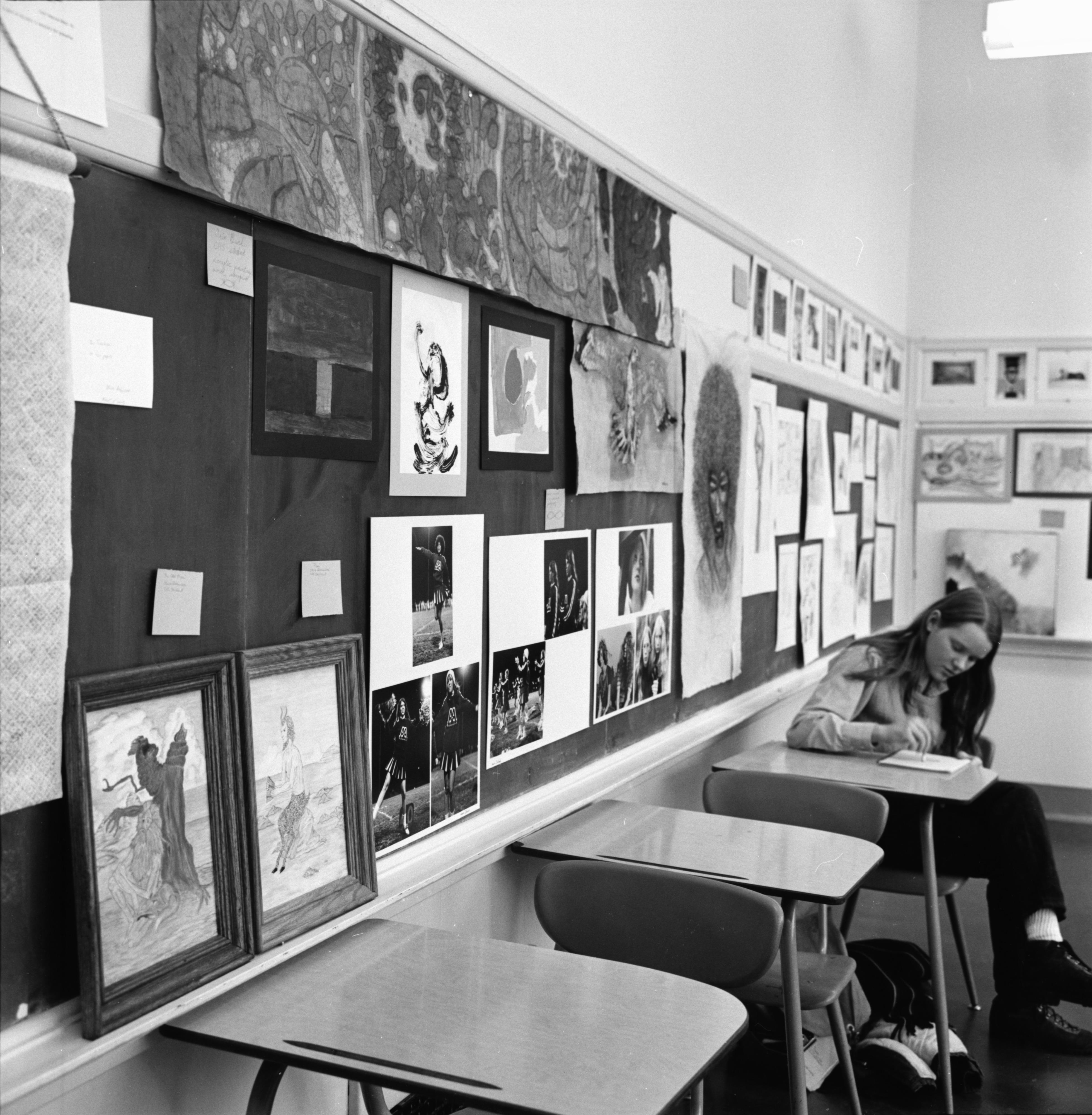 Community High Art Show, December 1972 image
