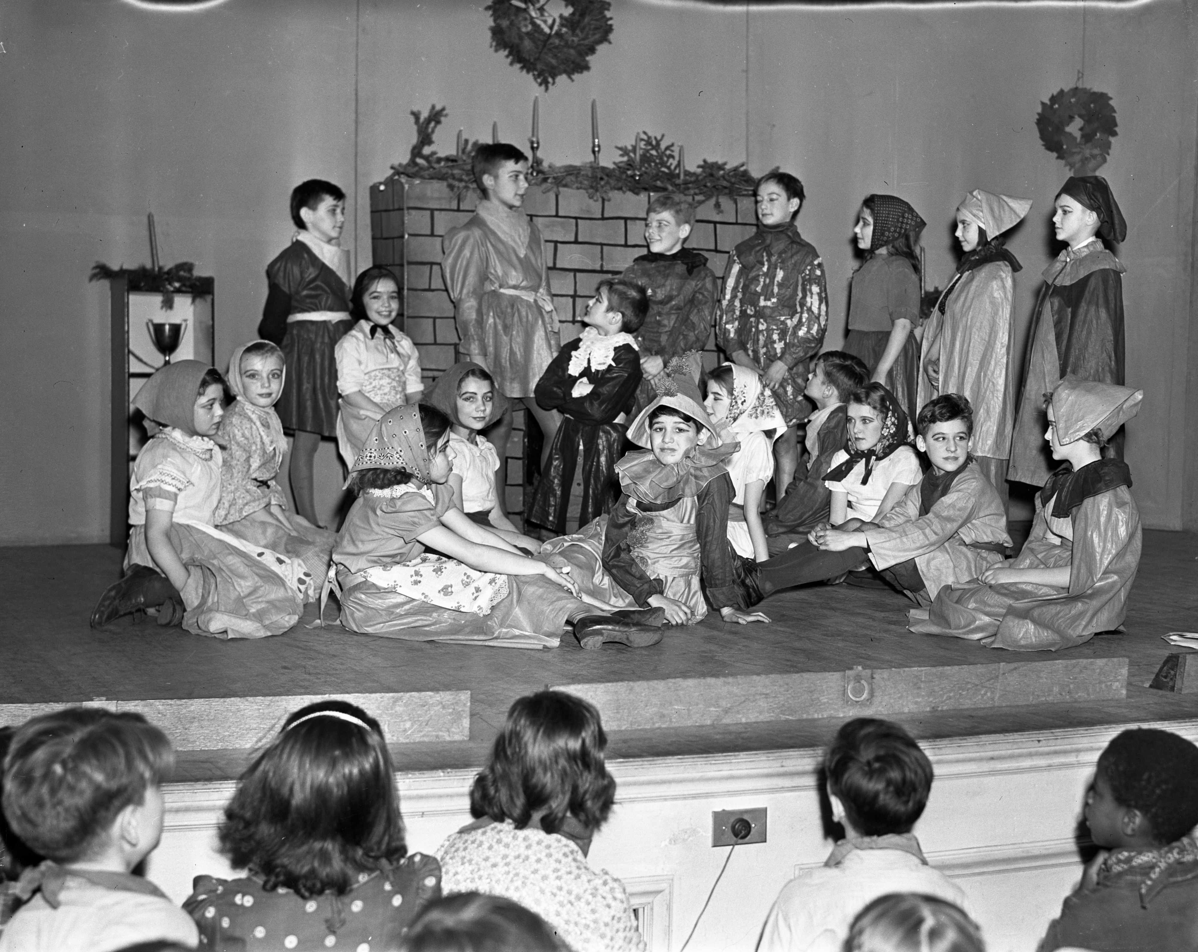 Perry School Christmas Play, December 1937 image