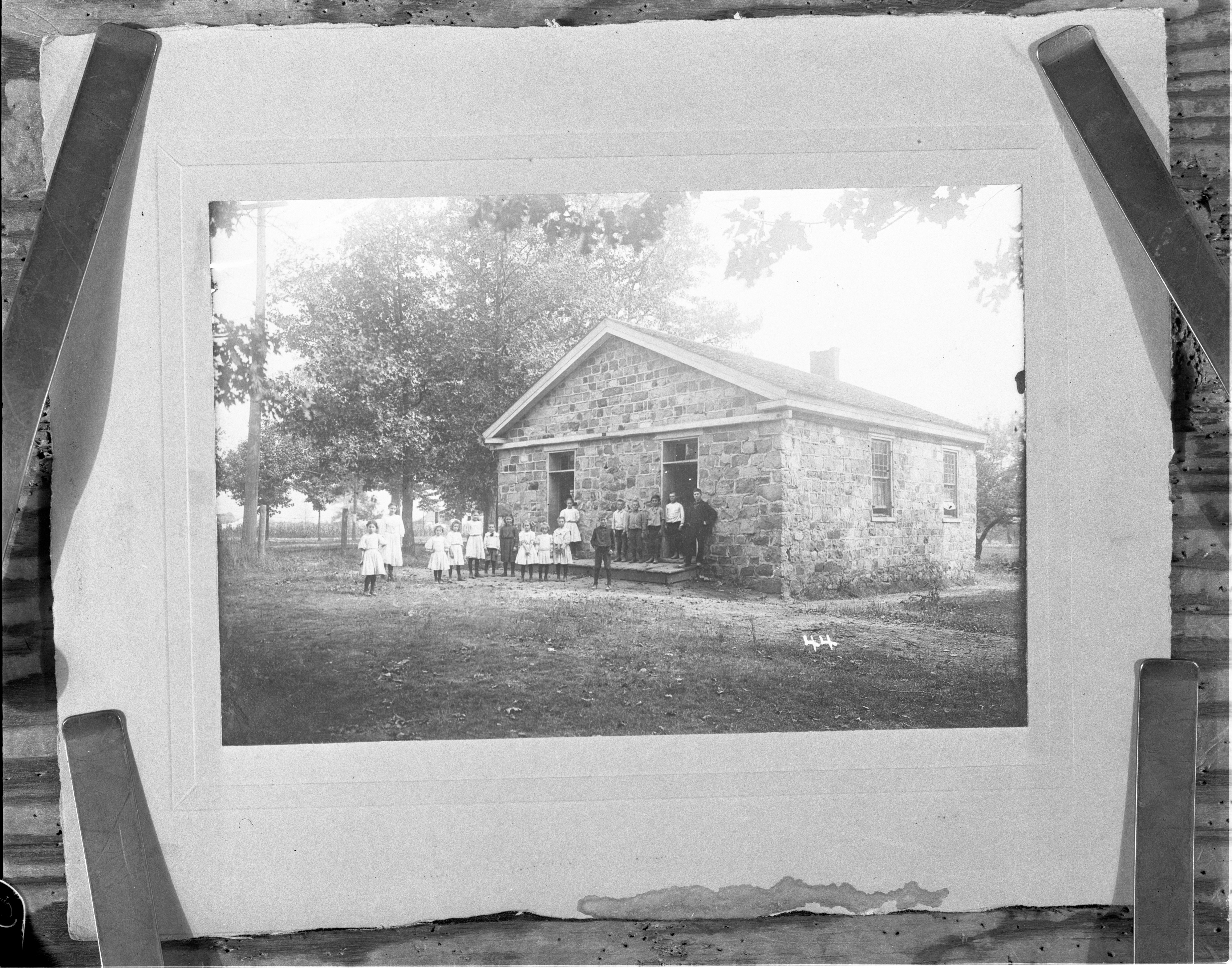 Stone School, 1911 (copy of original photograph) image