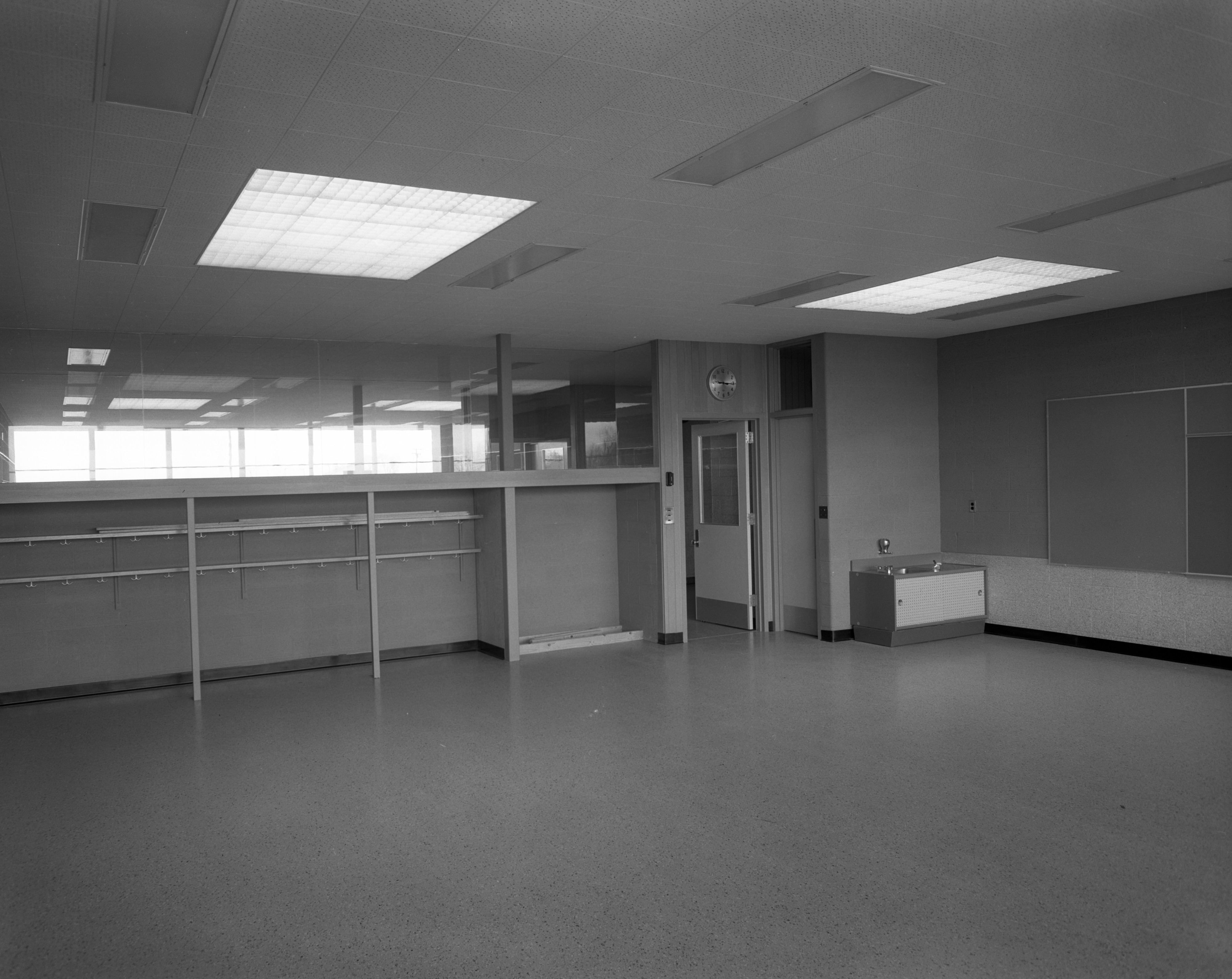 Classroom In New Wines Elementary School On Newport Road, April 1957 image