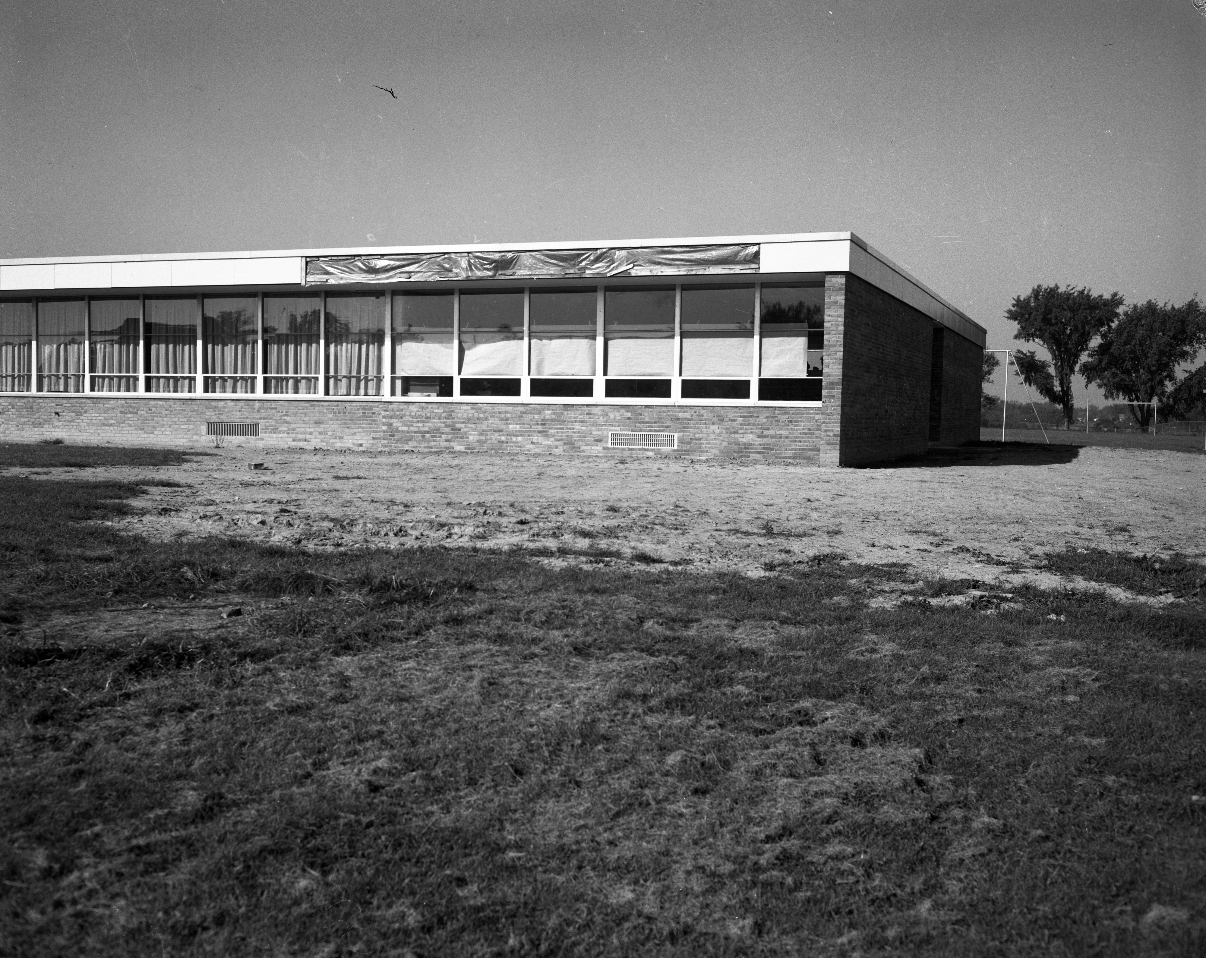 Wines Elementary School Addition, September 1961 image