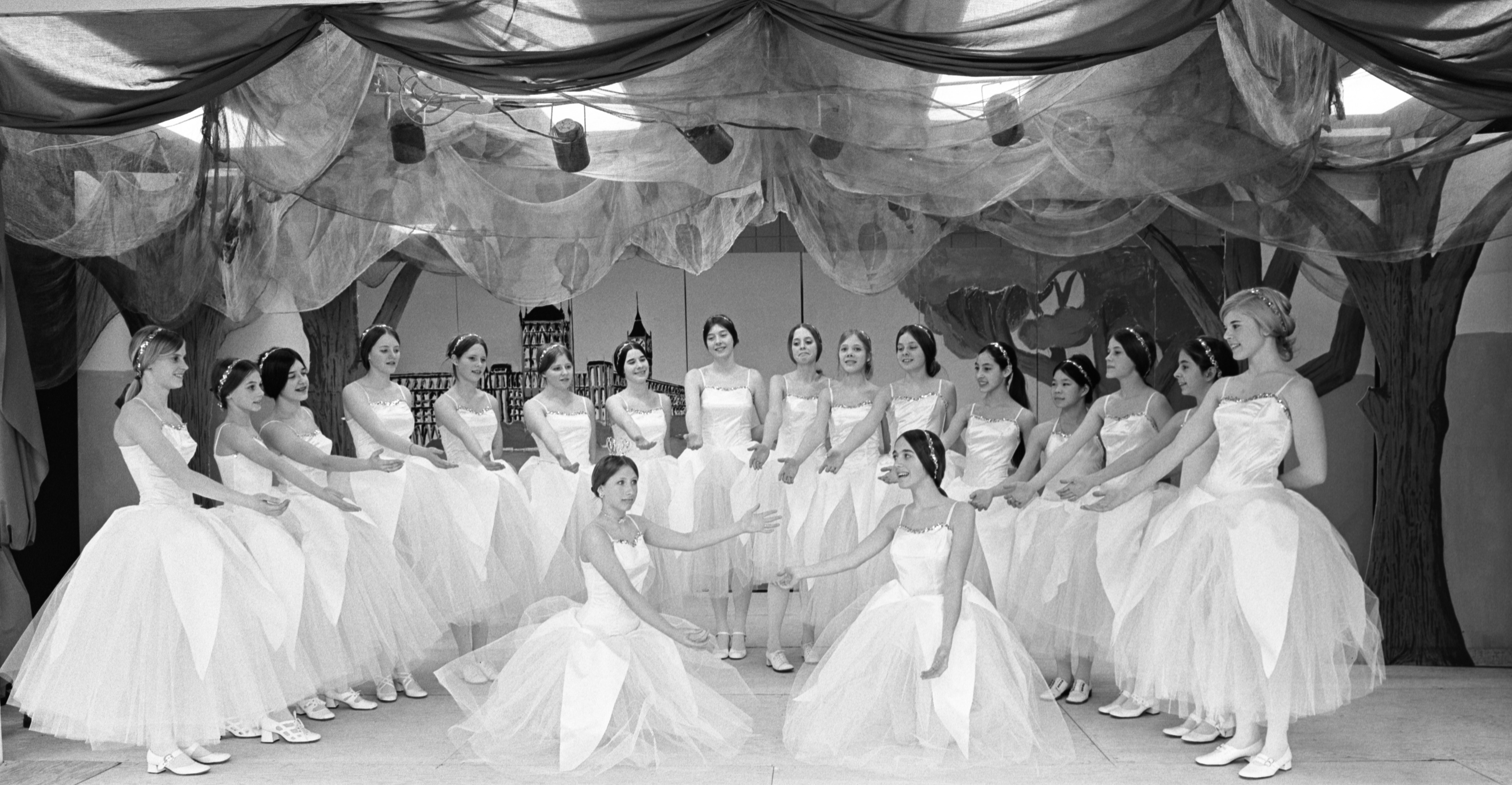 Students At Greenhills School Rehearse For The Play 'Iolanthe', March 10, 1972 image