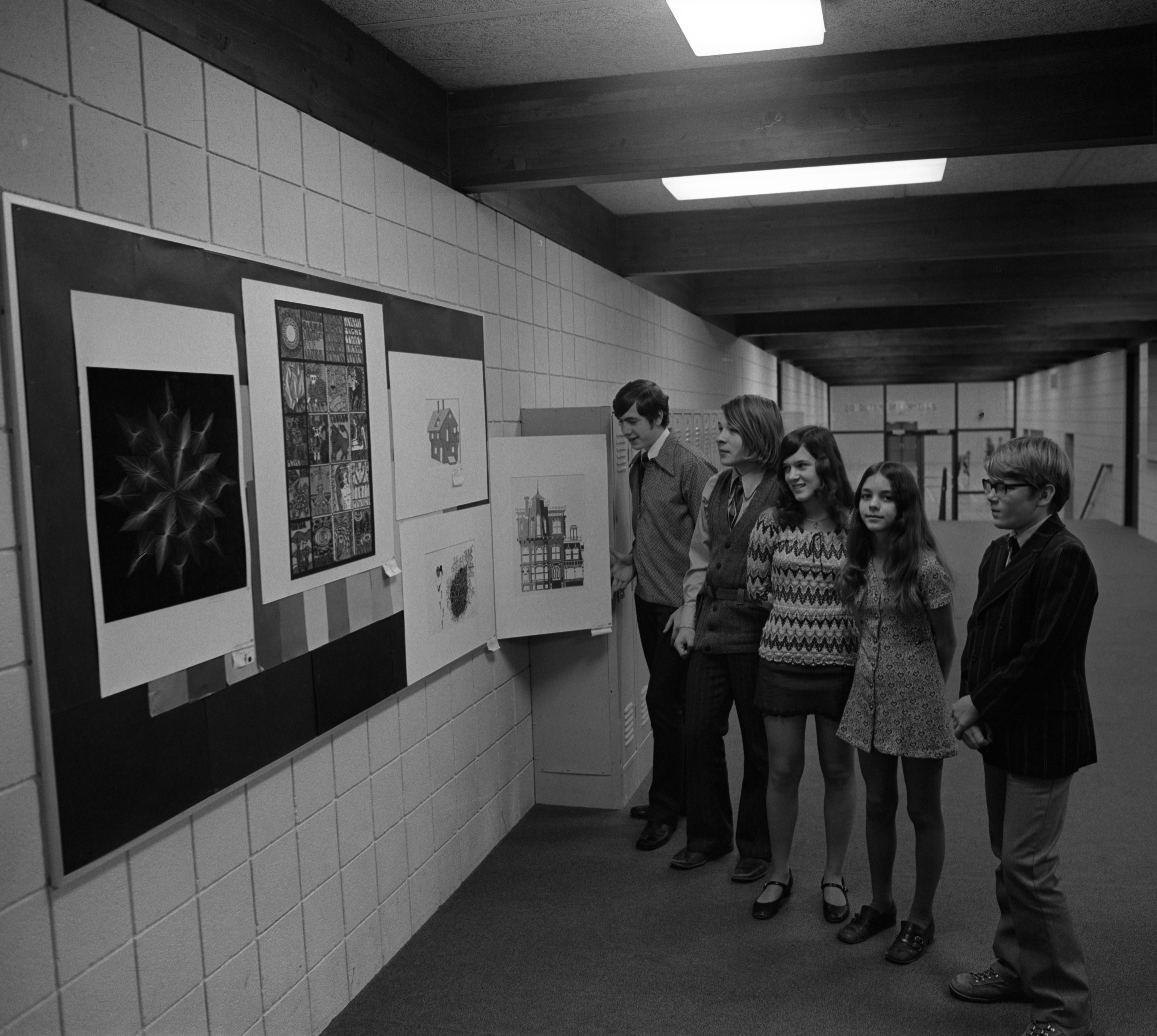 Greenhills Art Award Winners, March 26, 1972 image