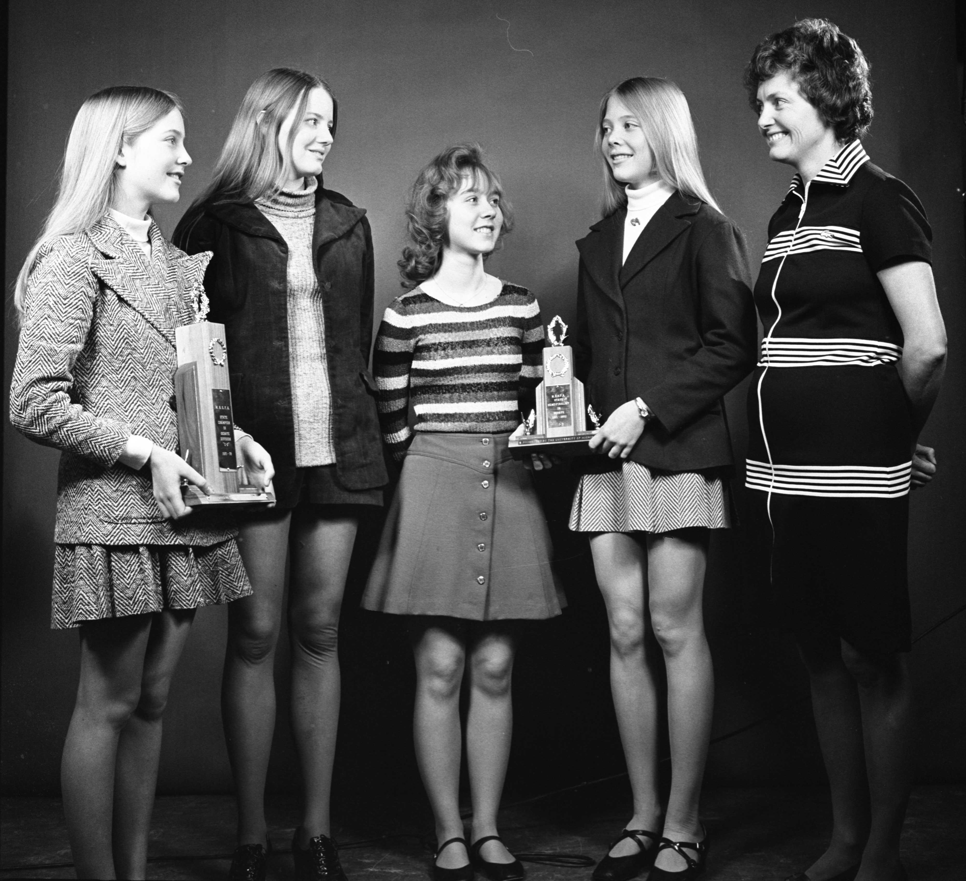 Greenhills School State Debate Champs, April 1972 image