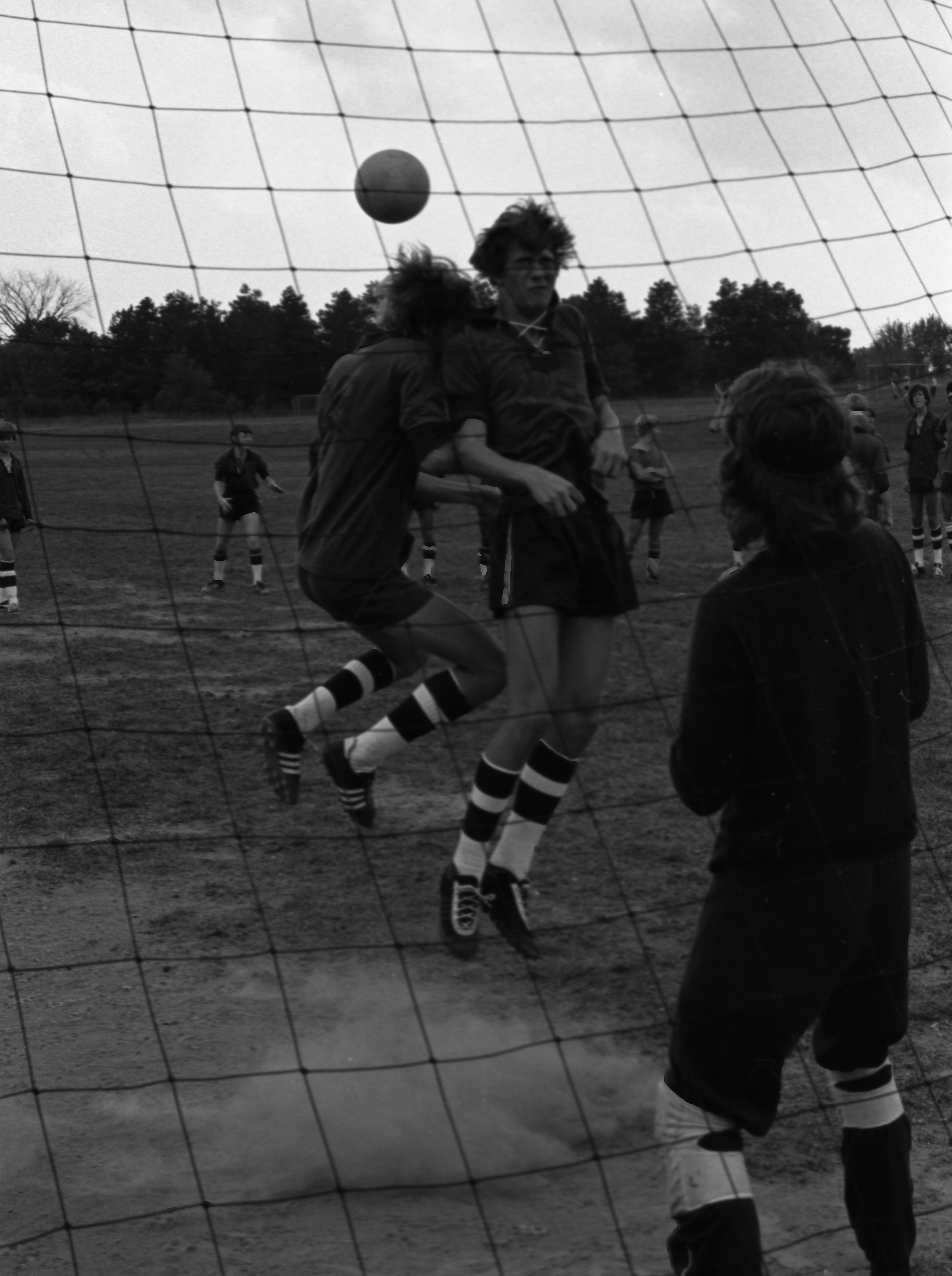 Soccer Practice At Greenhills School, September 15, 1974 image