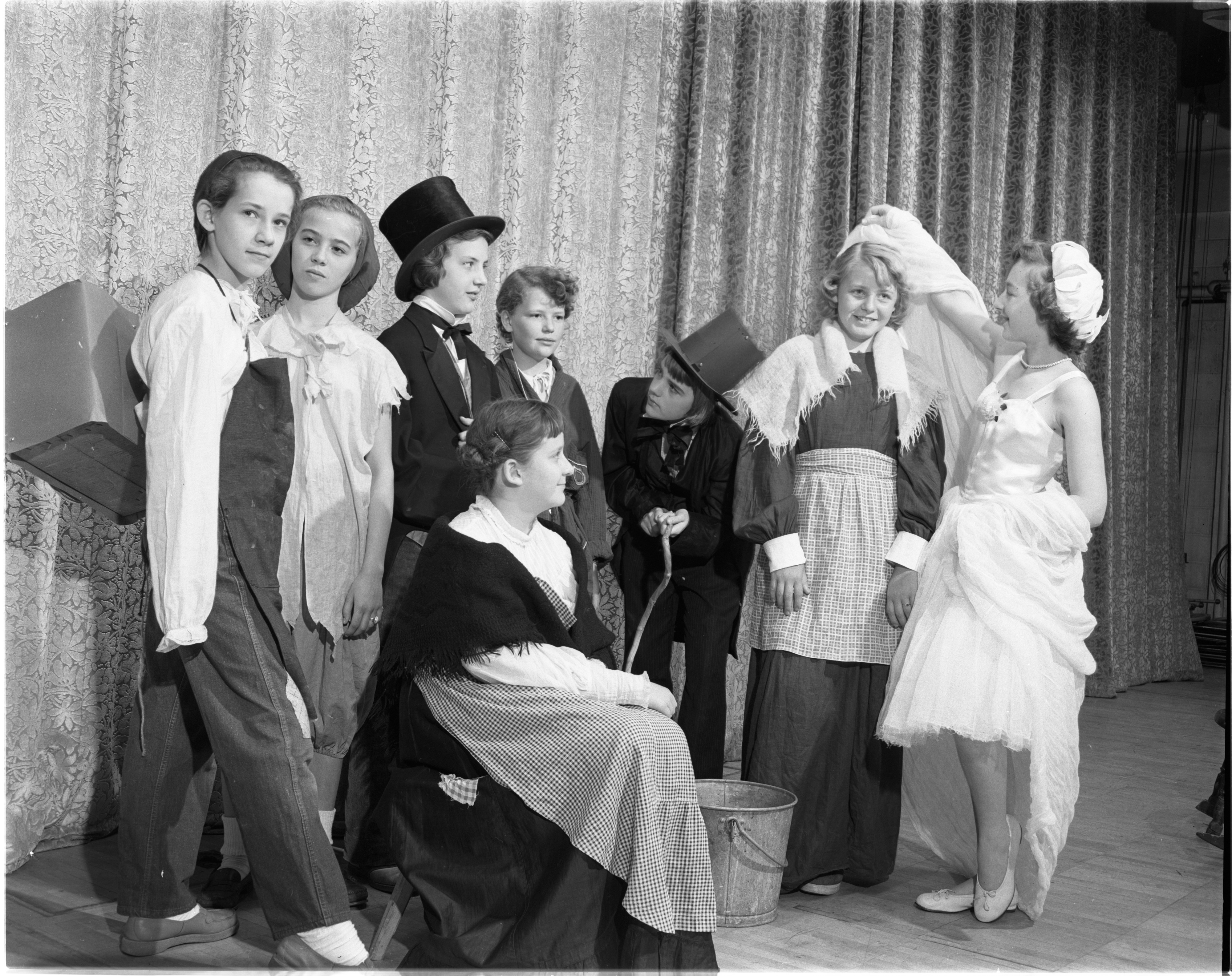 Slauson School Play, May 1953 image