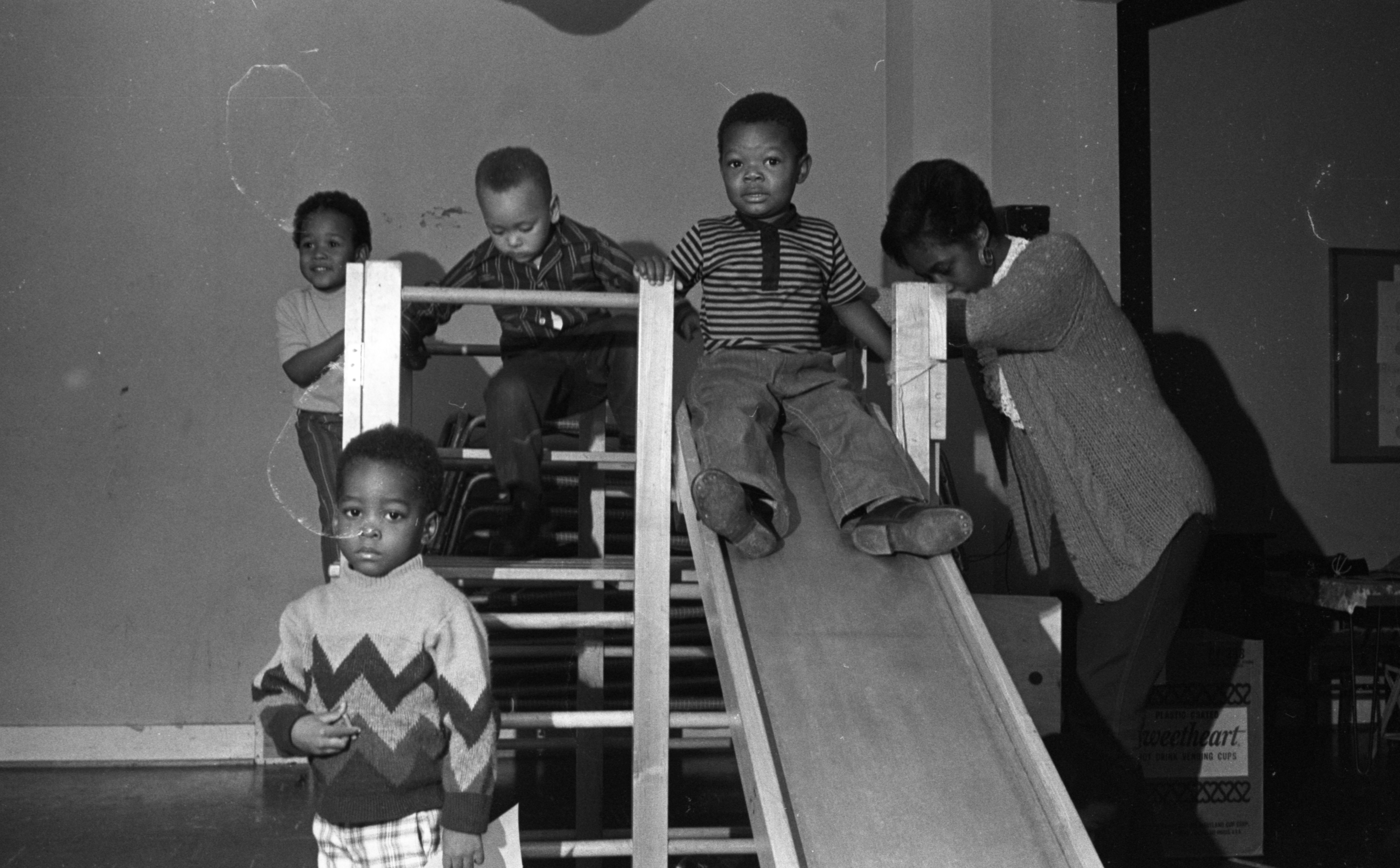 Play Time at Second Baptist Church Day Care Center, November 1971 image