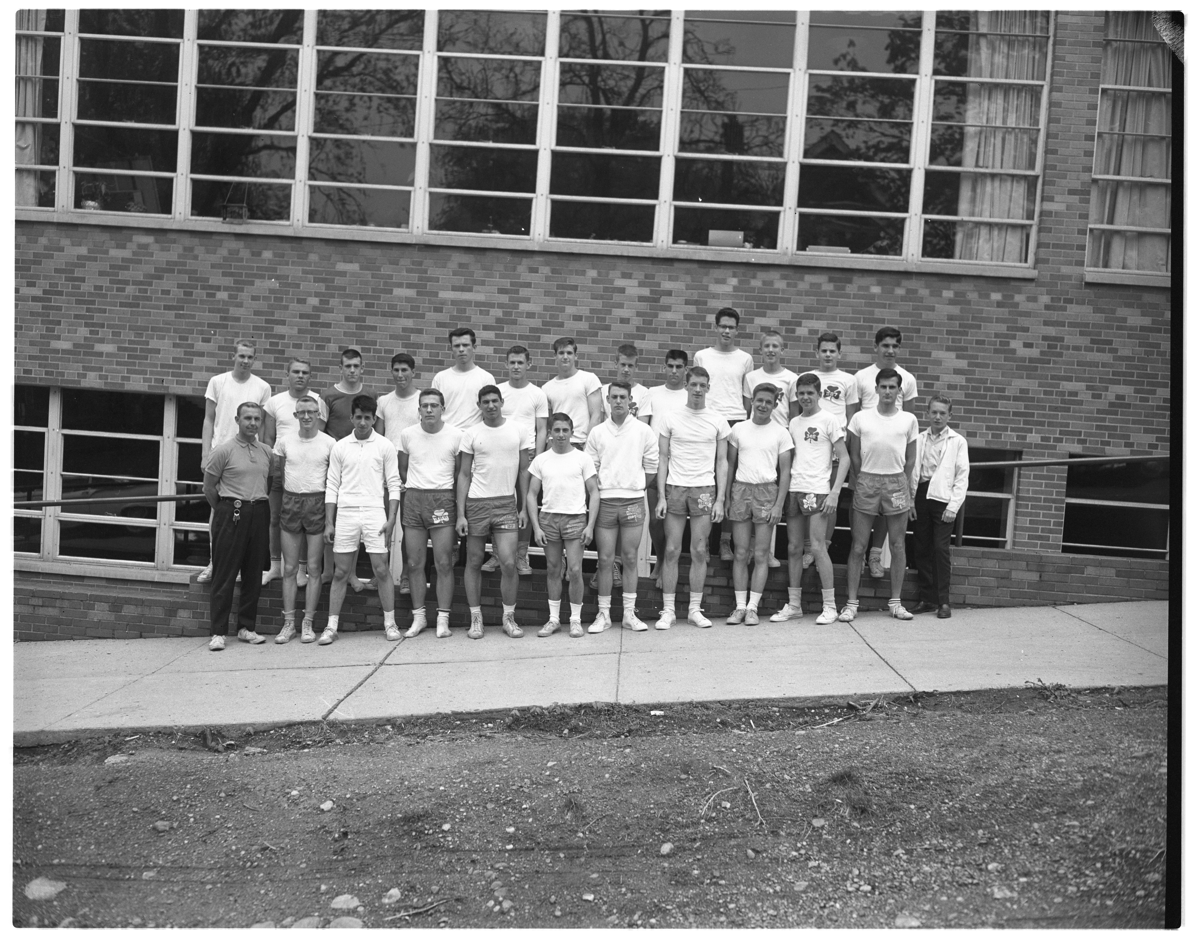 St. Thomas High School Champion Track Team, May 1963 image
