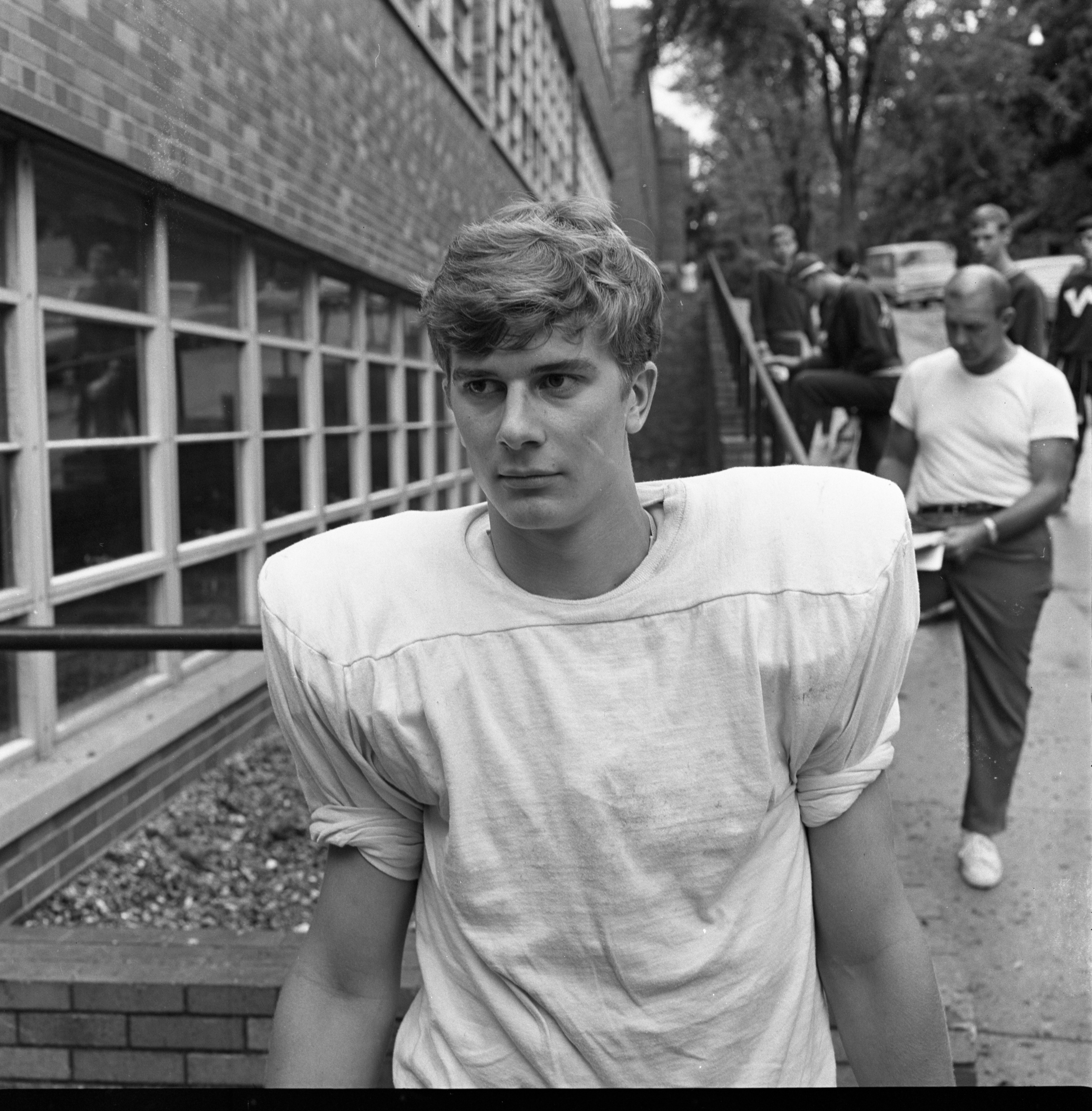 Bruce Otwell - St. Thomas High School Football Team, October 1968 image